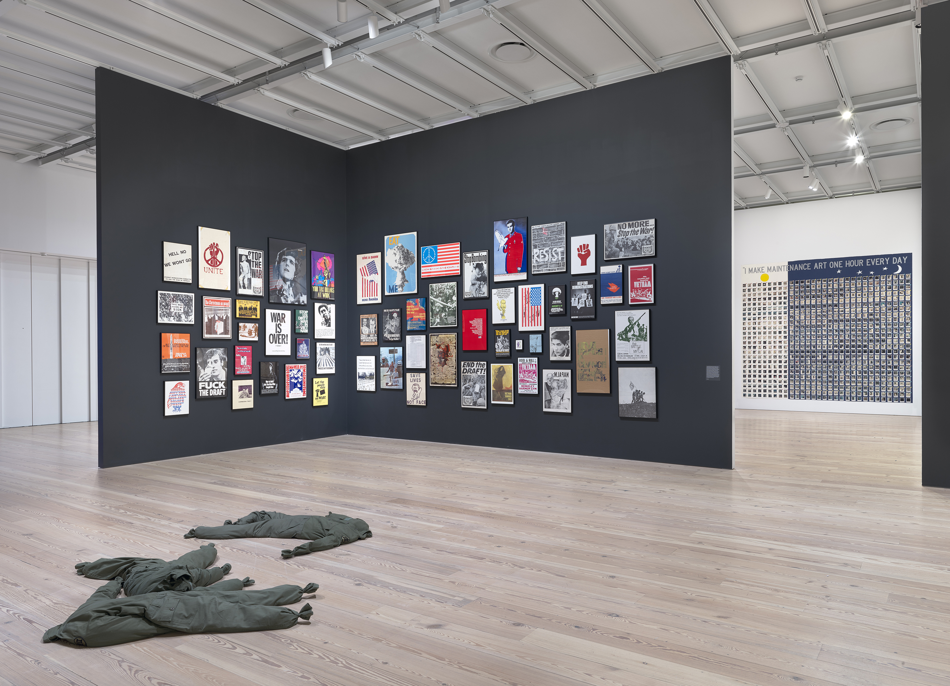 "A scene from the Whitney's 2017 exhibit ""An Incomplete History of Protest"""
