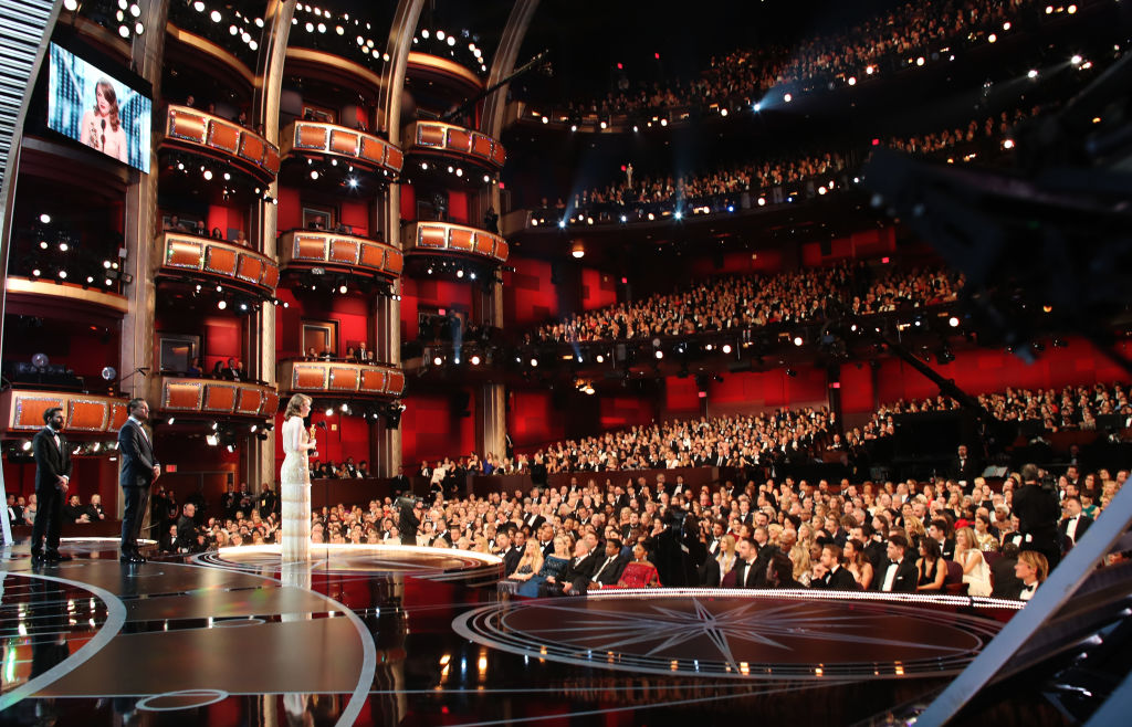 Actress Emma Stone accepts Best Actress for 'La La Land' onstage during the 89th Annual Academy Awards at Hollywood & Highland Center on February 26, 2017 in Hollywood, California.