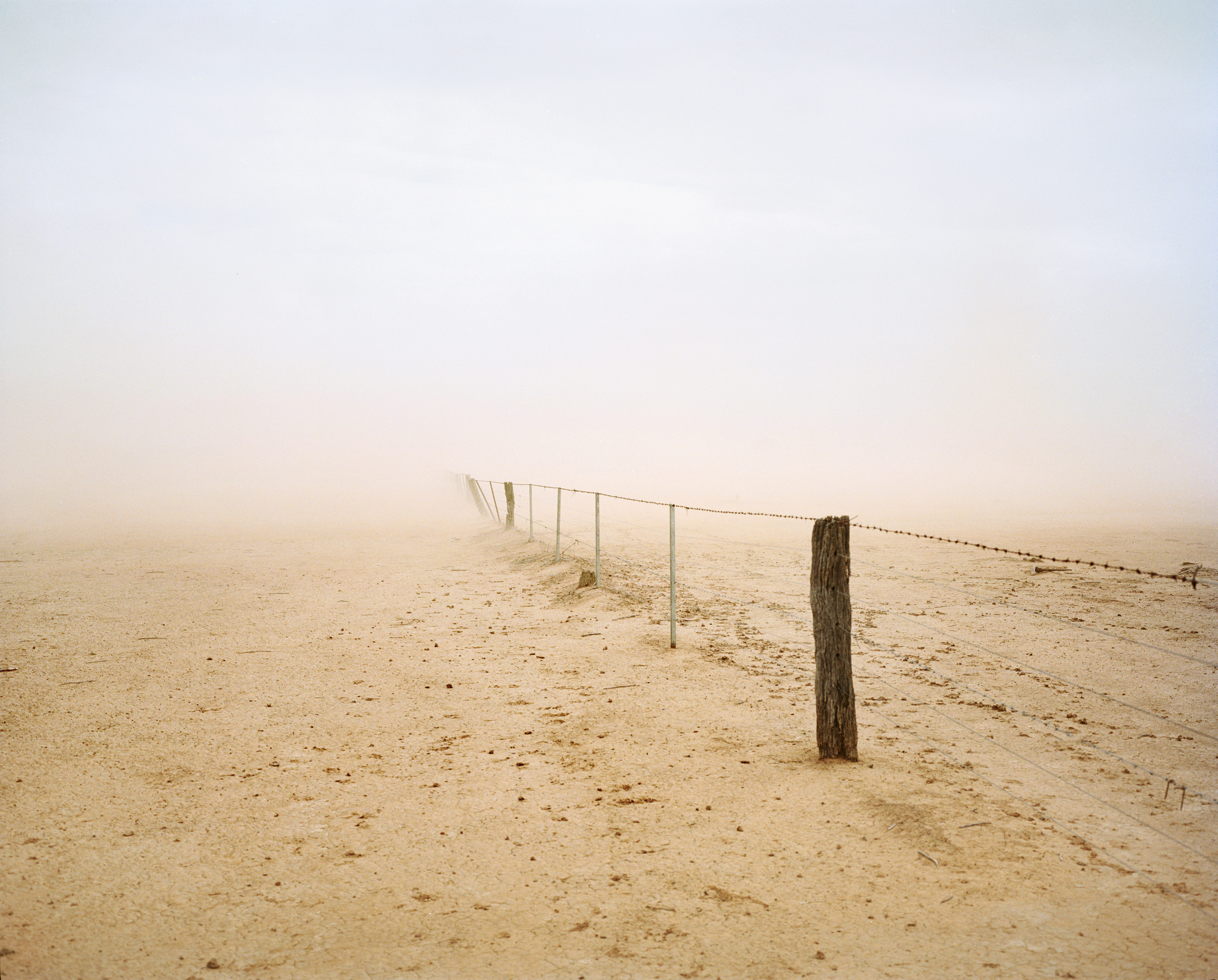 A dust storm blows across Epping Farm, the property of Jack and Jan Slack-Smith, near Pilliga in December.