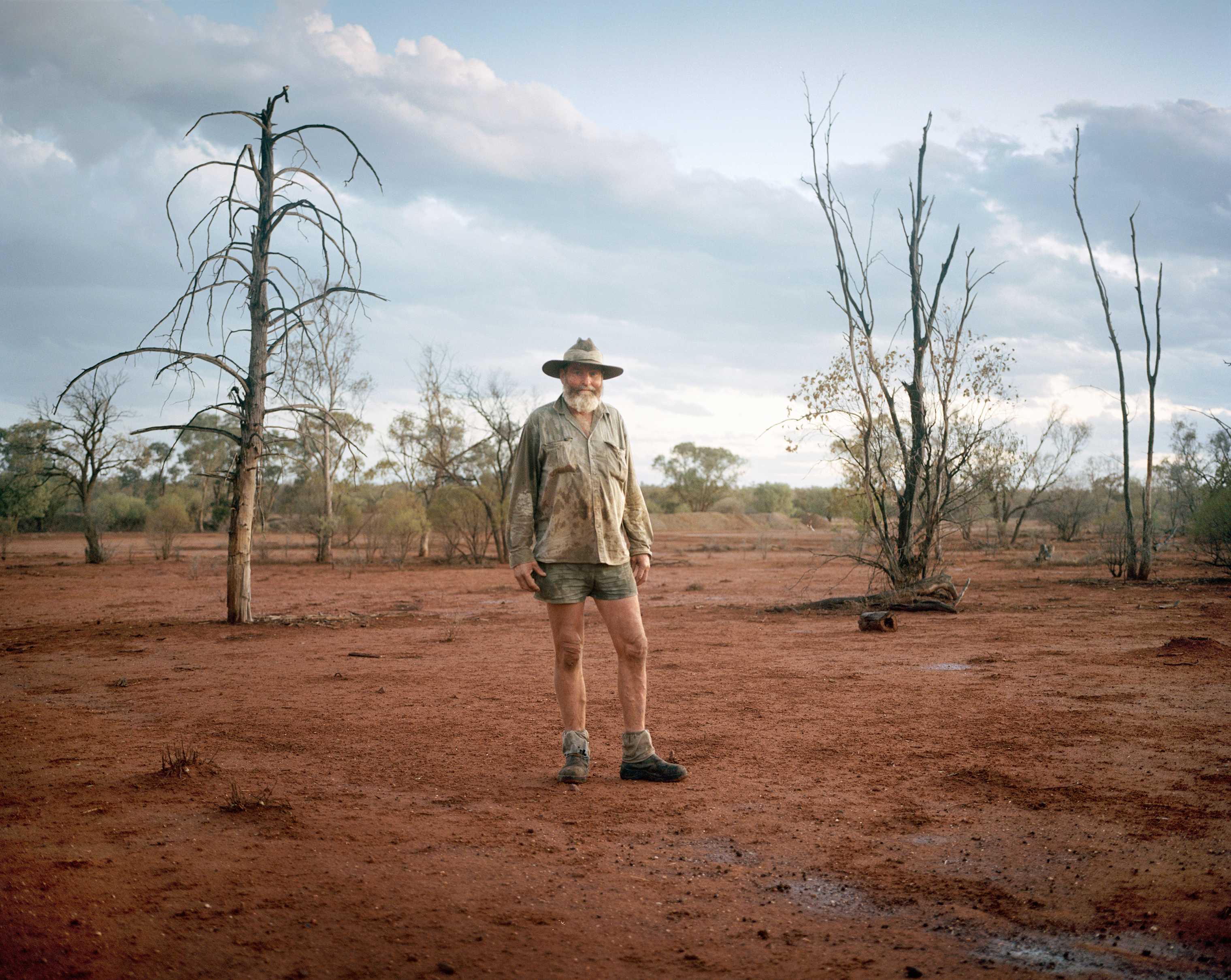 James Foster, a farmer, on Westleigh Property near Walgett, New South Wales, in December 2018. Foster is the third generation of his family to own and work Westleigh.
