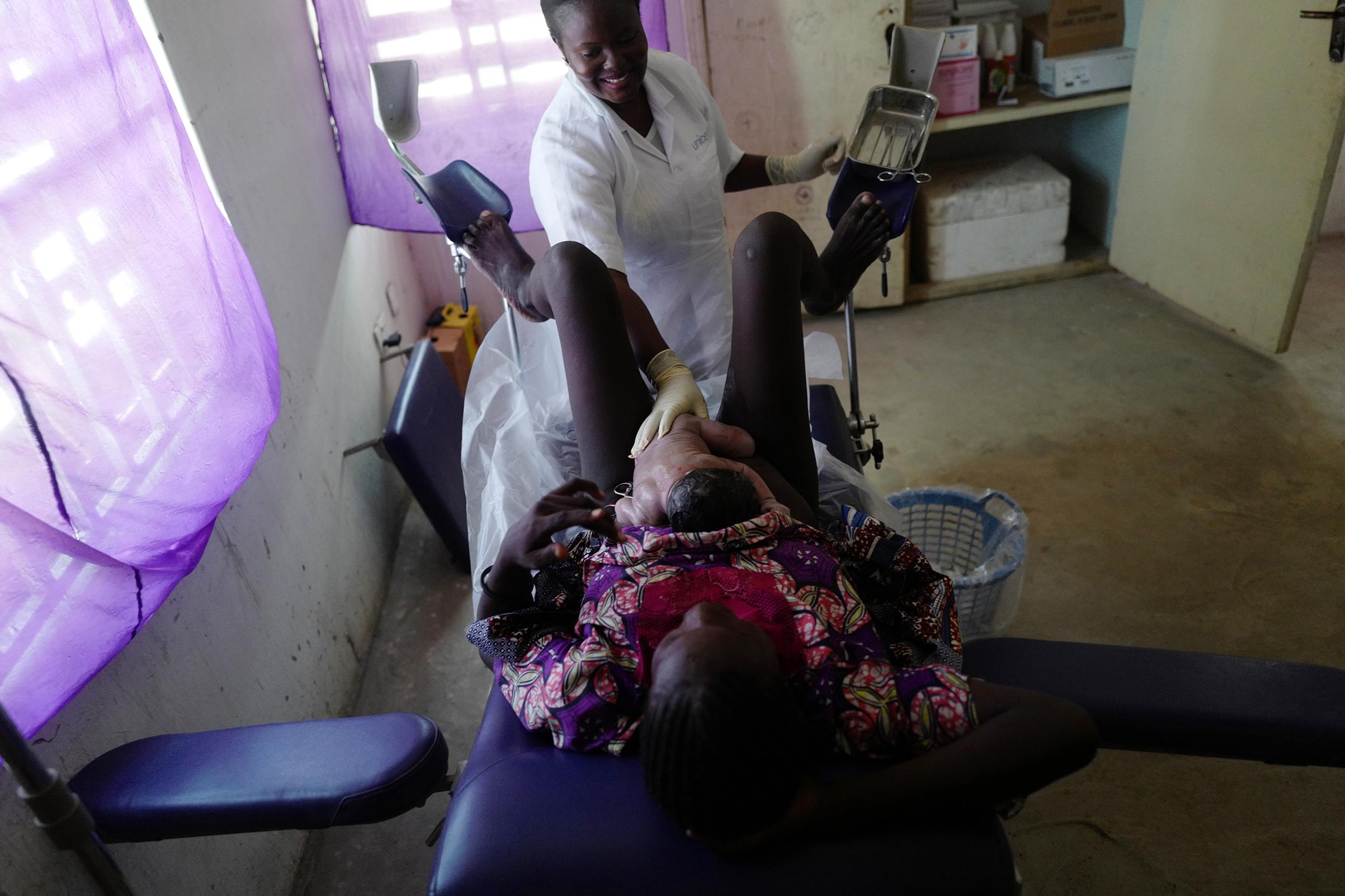 Yanuma Mallama delivers her 8th child