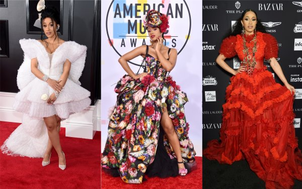 See Cardi B S Best Fashion Outfits Met Gala Fashion Week Time