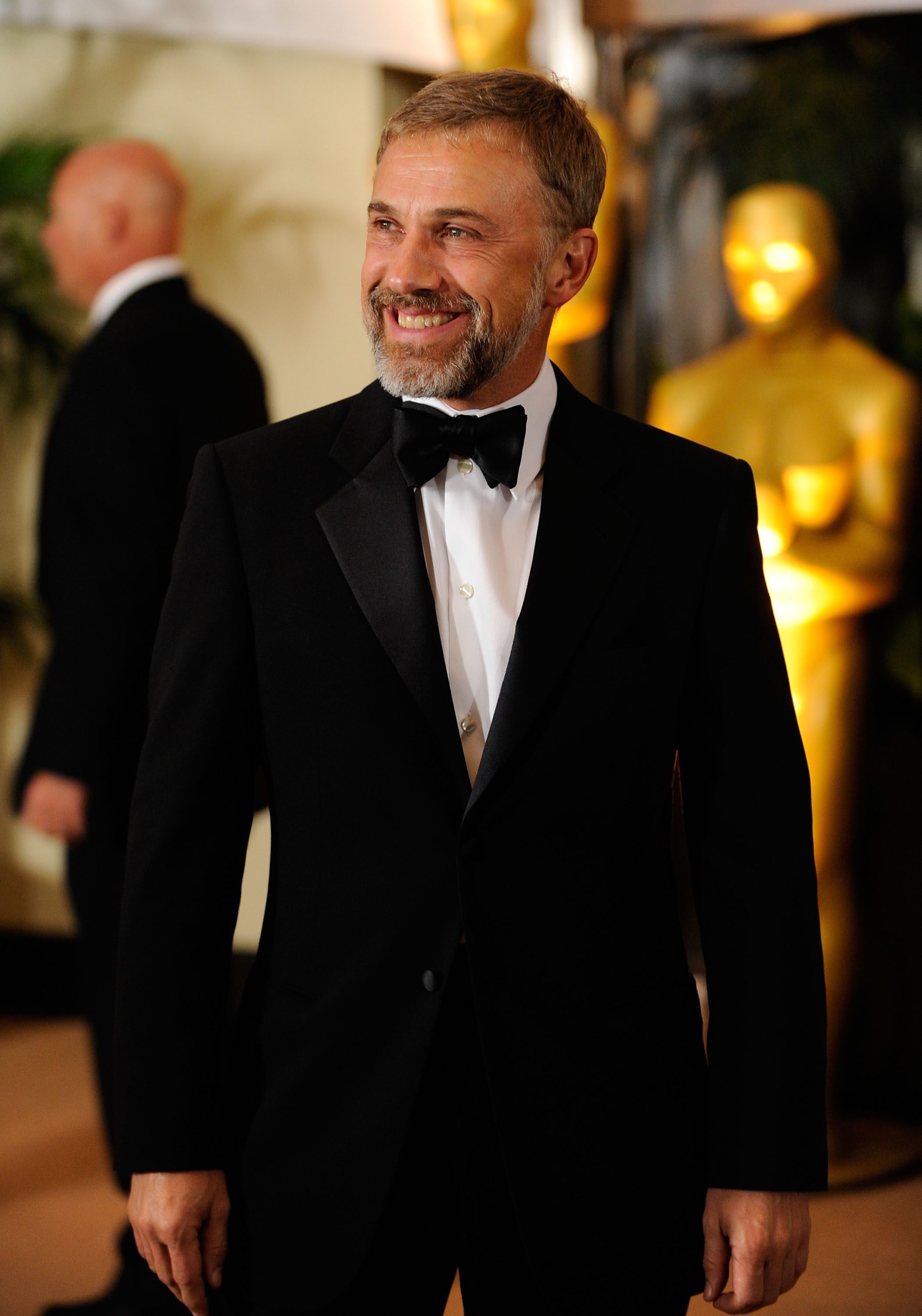 Actor Christoph Waltz arrives at the Academy of Motion Picture Arts and Sciences' Inaugural Governors Awards held at the Grand Ballroom at Hollywood & Highland Center on November 14, 2009 in Los Angeles, California.
