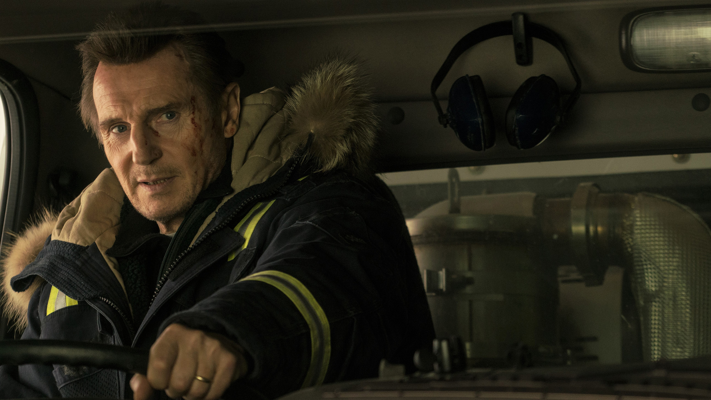 Just a man and his plow: Neeson walks the talk in Cold Pursuit