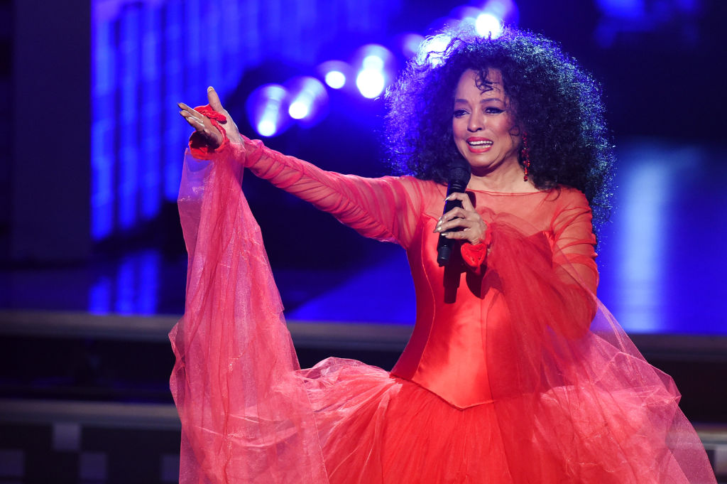 Diana Ross performs onstage during the 61st Annual GRAMMY Awards at Staples Center on February 10, 2019 in Los Angeles, California.