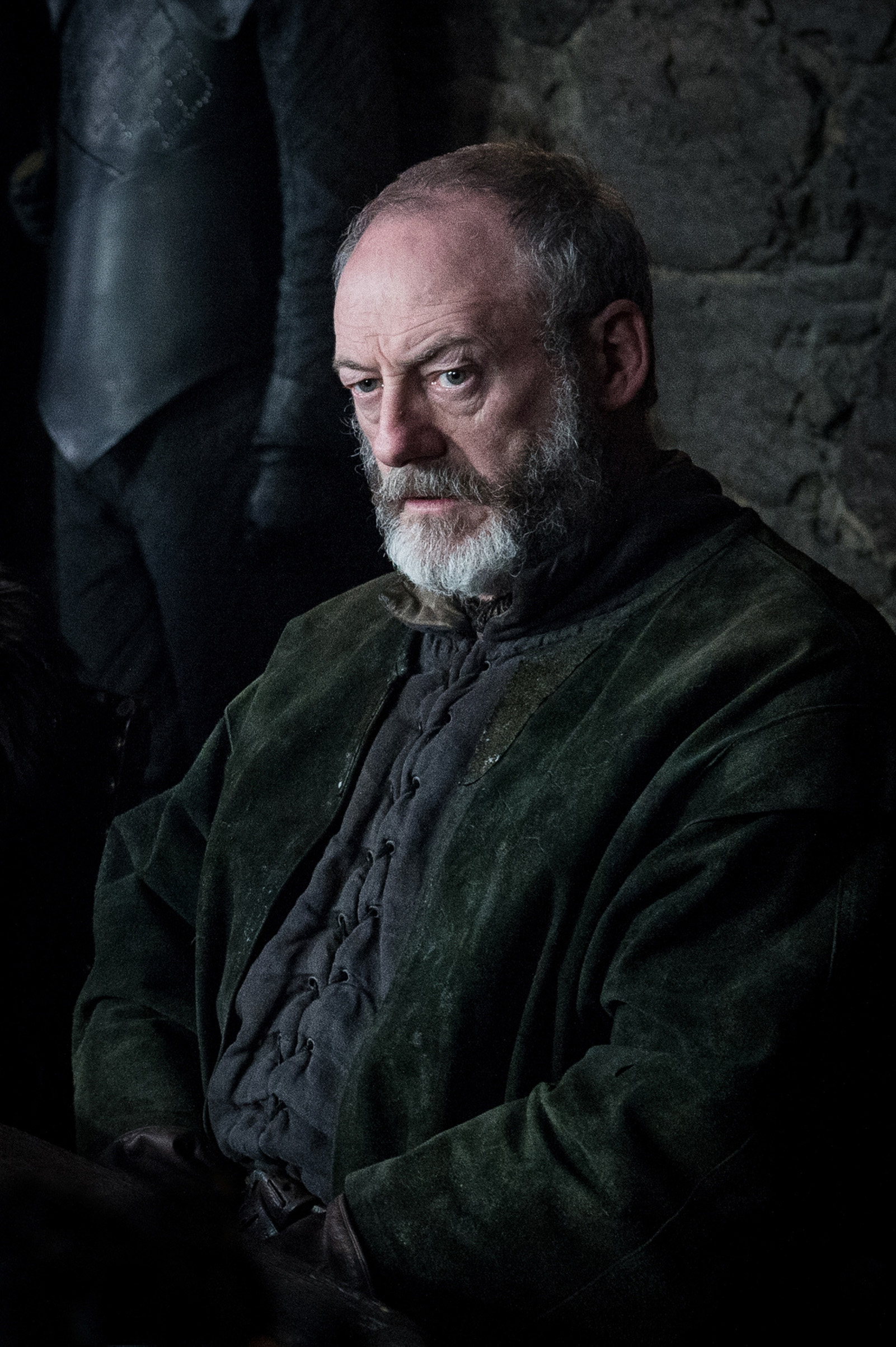 Liam Cunningham as Davos Seaworth