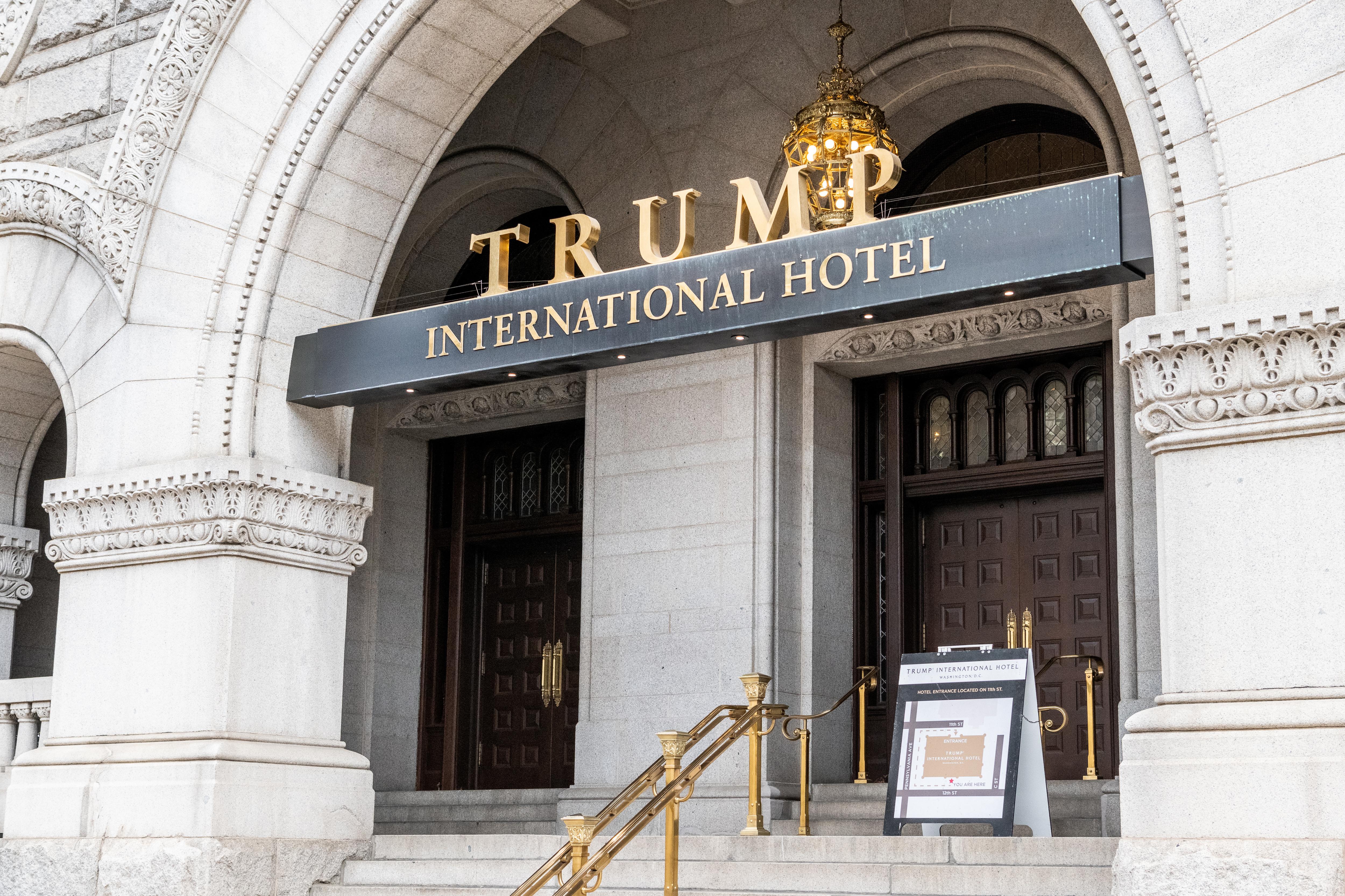 Trump International Hotel in Washington, D.C. is seen on Nov. 12, 2018.