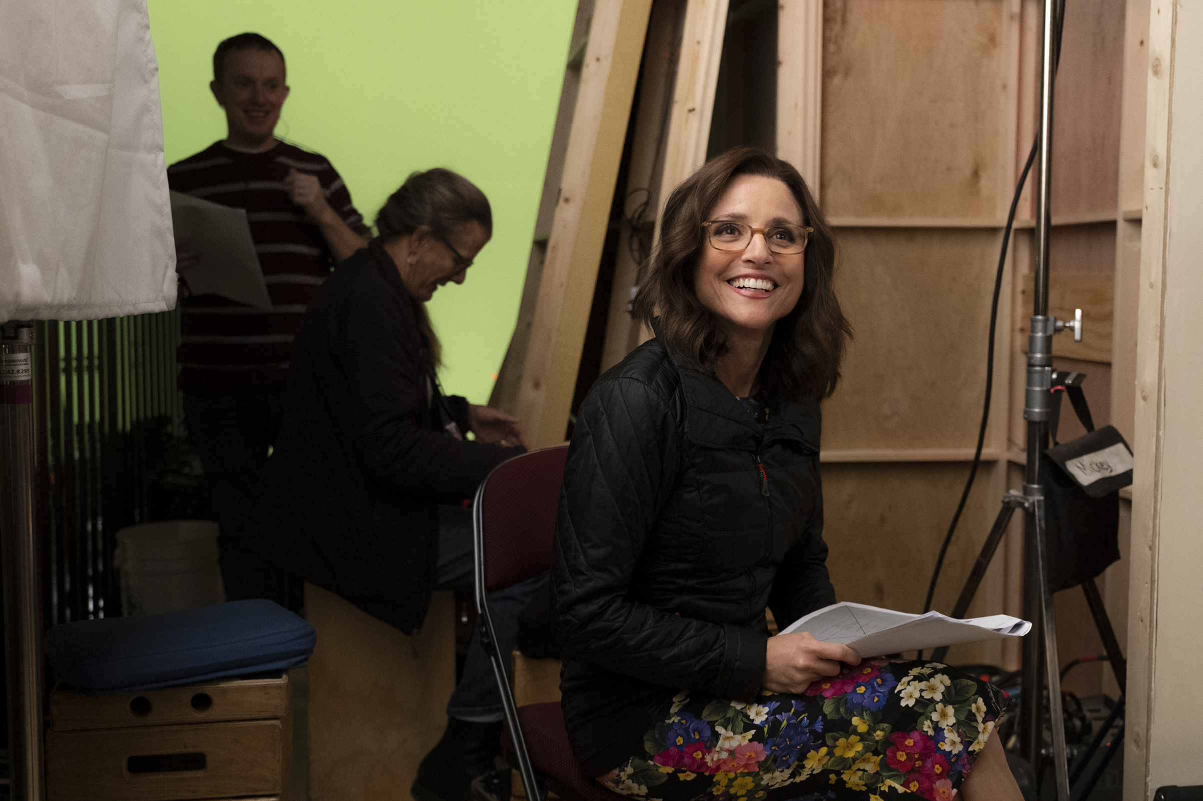 Behind the scenes on the set of Veep