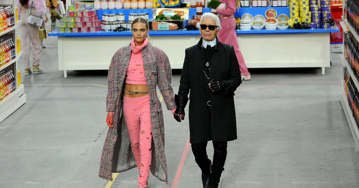 See Karl Lagerfeld's Most Creative Chanel Fashion Shows | Time