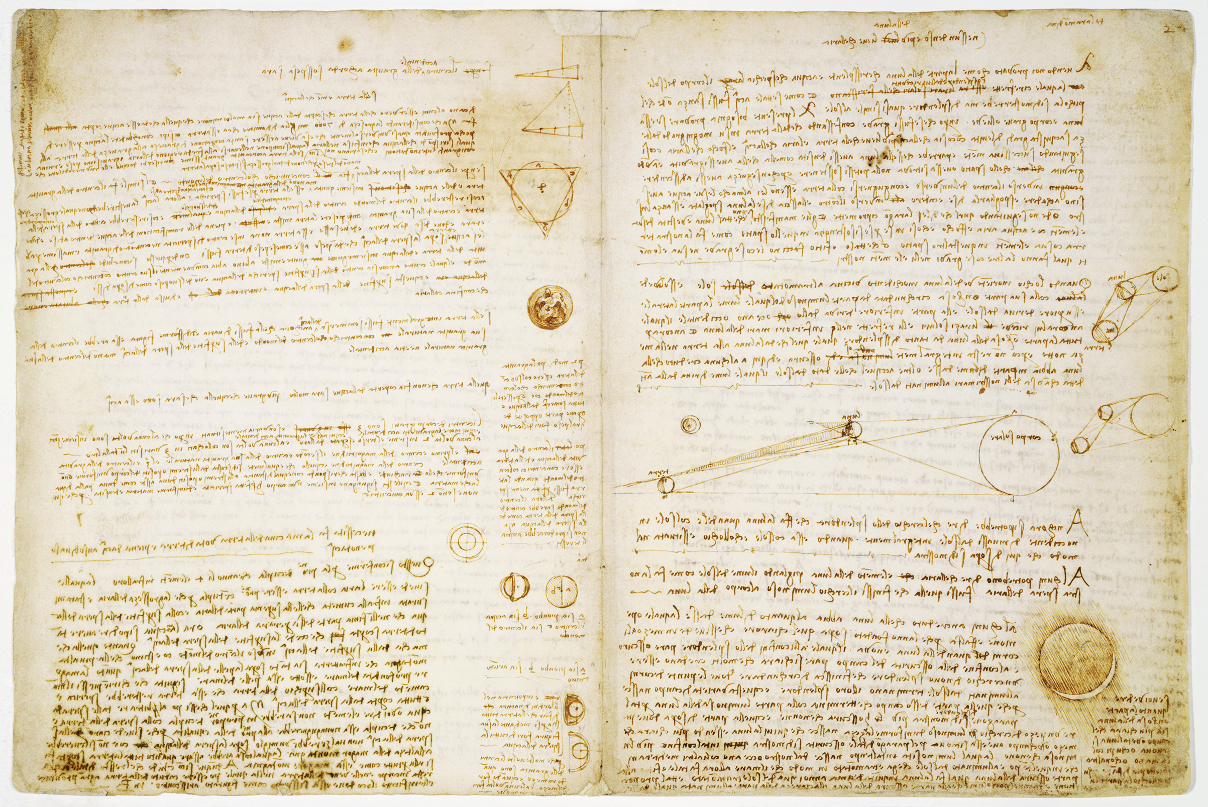 2019 marks the 500th anniversary of Leonardo's death. To help celebrate the occasion, the Codex Leicester will be on display in several European museums