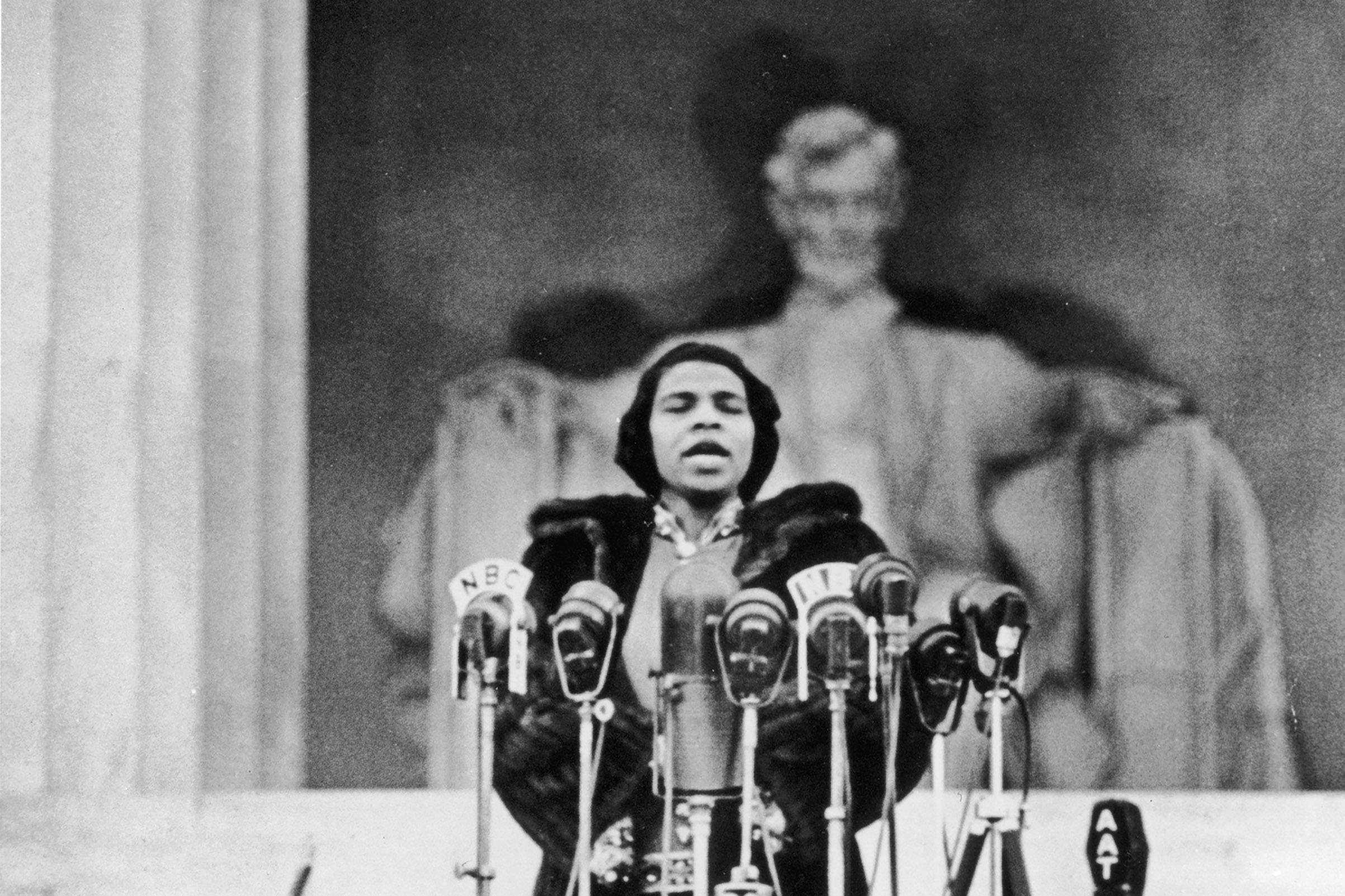 Singer Marian Anderson connects a history of black artistic excellence in America