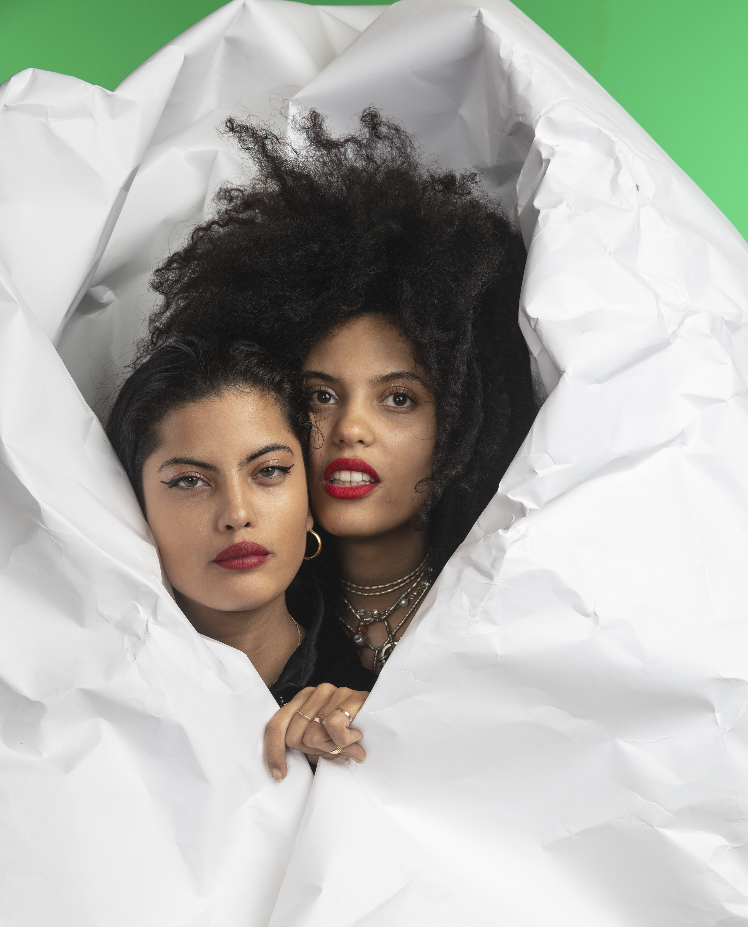 Musical duo Ibeyi