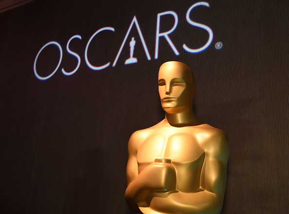 Oscar statue watches over the 91st Oscars Nominees Luncheon at the Beverly Hilton hotel in Beverly Hills on Feb. 4, 2019.