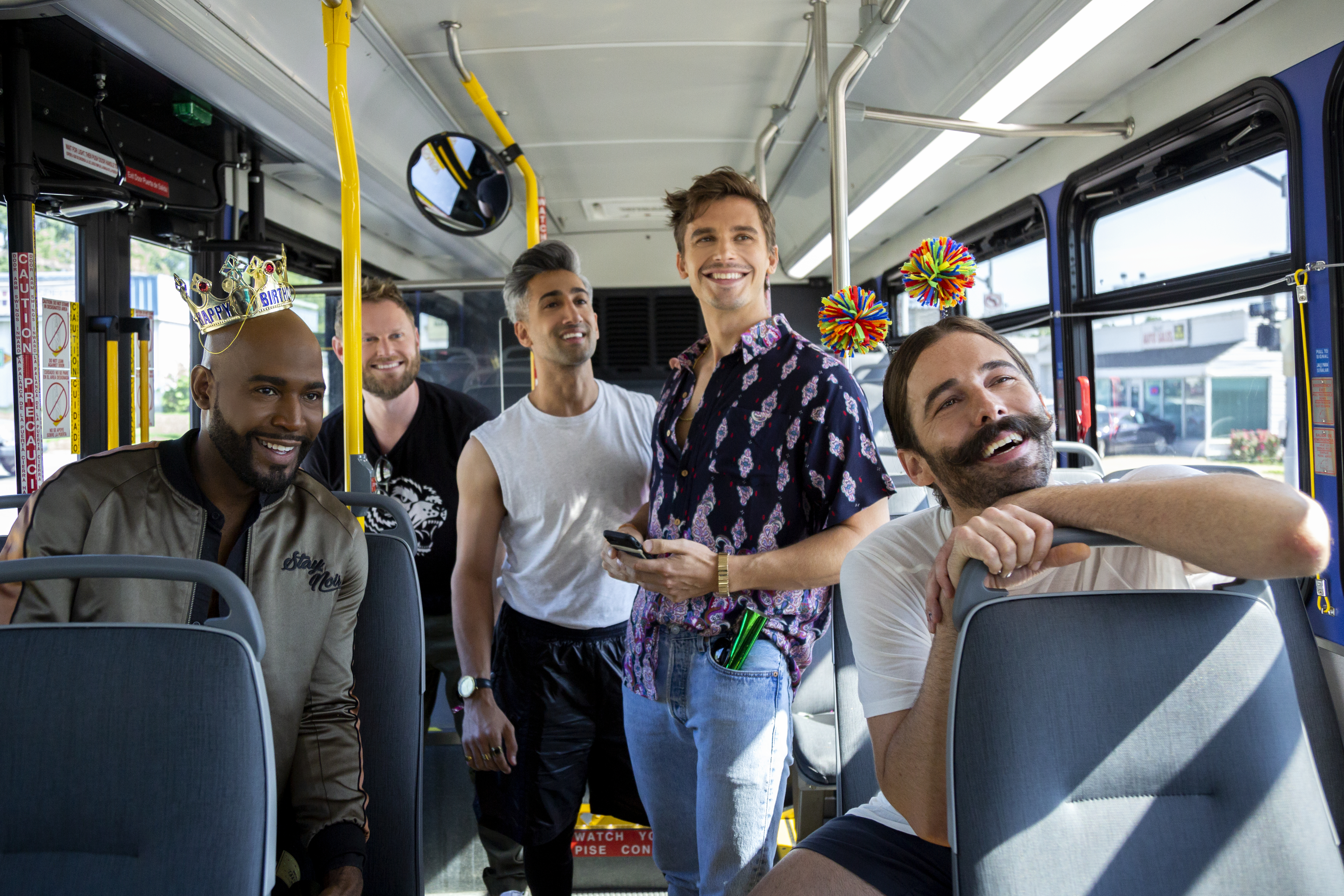 The cast of 'Queer Eye.'