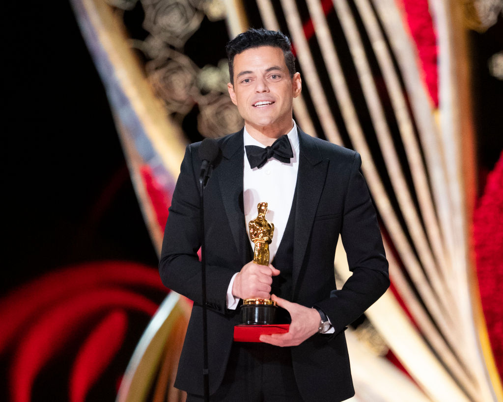 Rami Malek accepts his award for Best Actor during the 91st Oscars at the Dolby Theatre on Feb. 24, 2019.