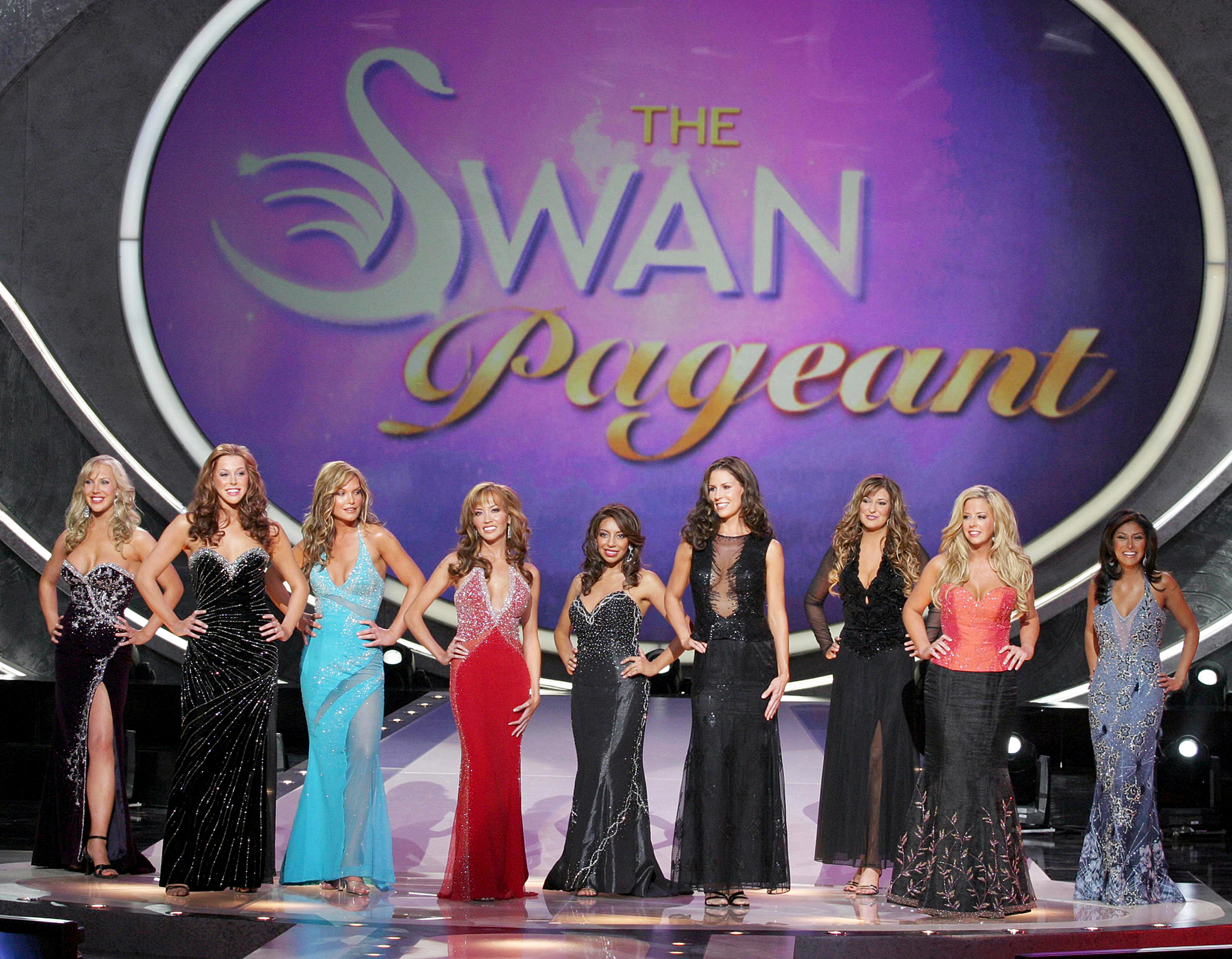 In April 2004, Fox takes reality trash too far with its sadistic pageant The Swan.