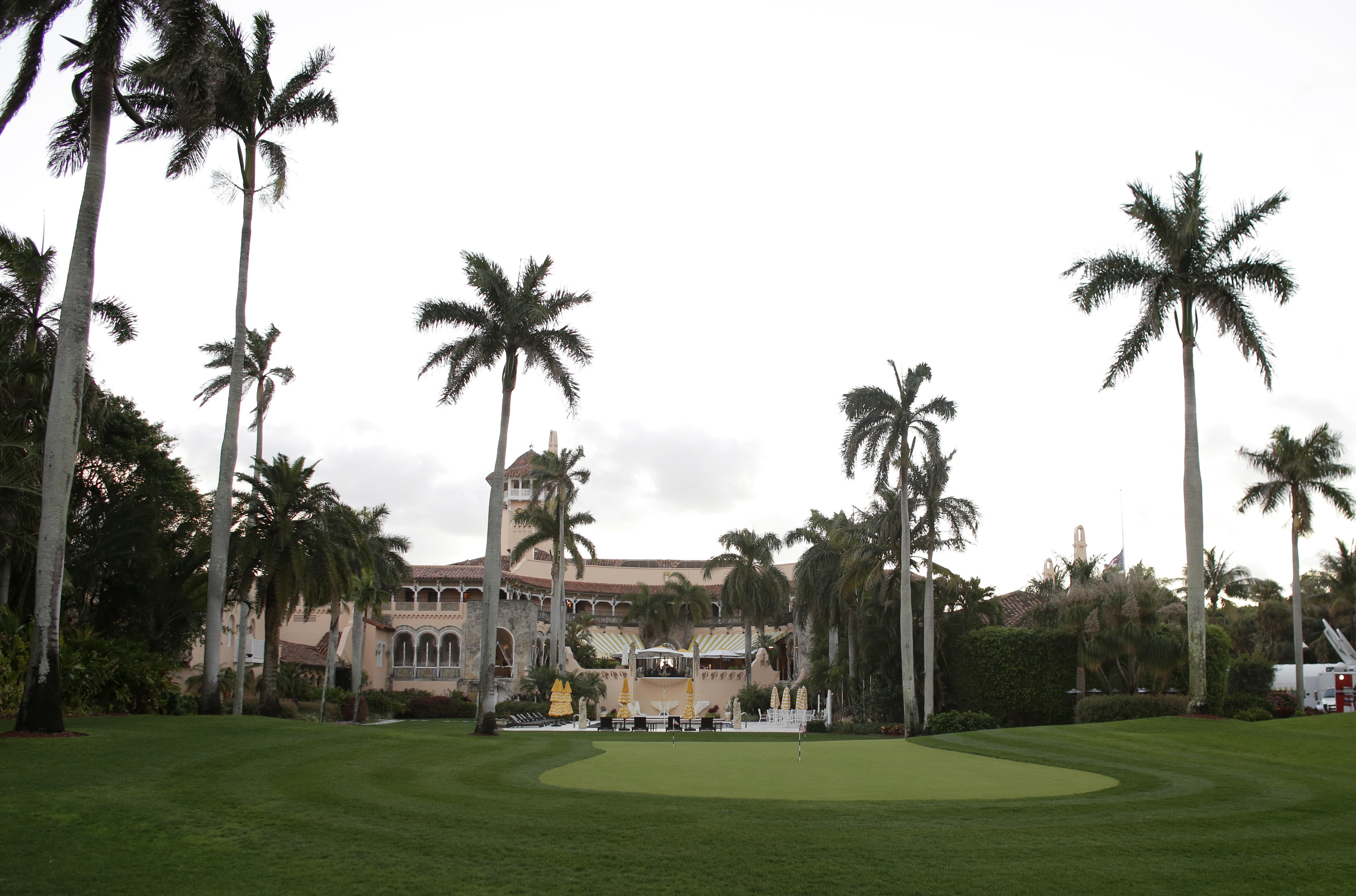 This Friday, March 11, 2016, file photo, shows the Mar-a-Lago Club, owned by President Trump, in Palm Beach, Fla. In a report published by the Government Accountability Office on Feb. 5, 2019, trips the President makes to Mar-a-Lago can cost the taxpayers about $1 million a day.