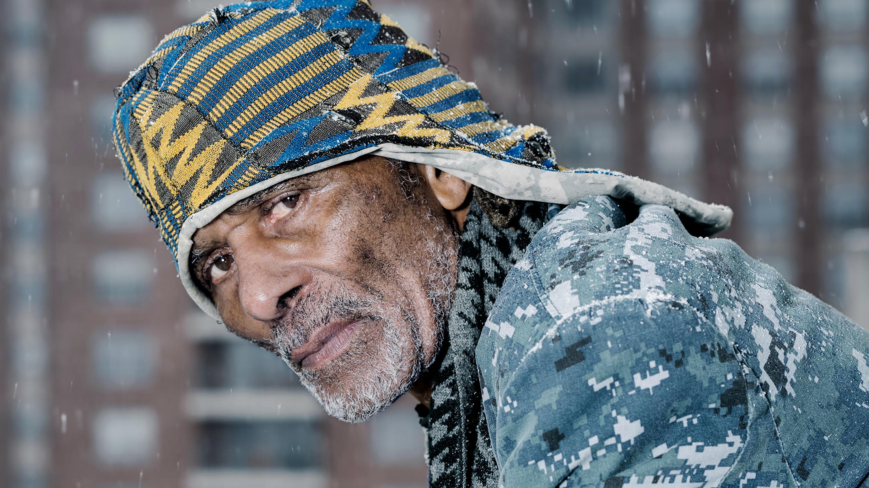 William  Tony  A. Maynard in Co-op City, Bronx, N.Y., on Feb. 20.