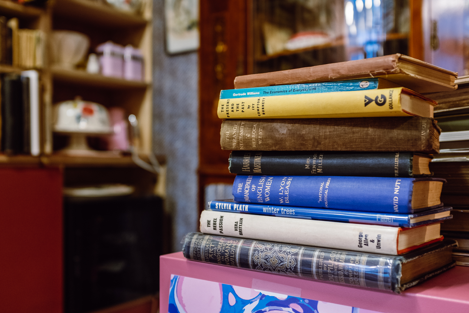 Many of the women-authored books in The Second Shelf are signed, and most are first editions.
