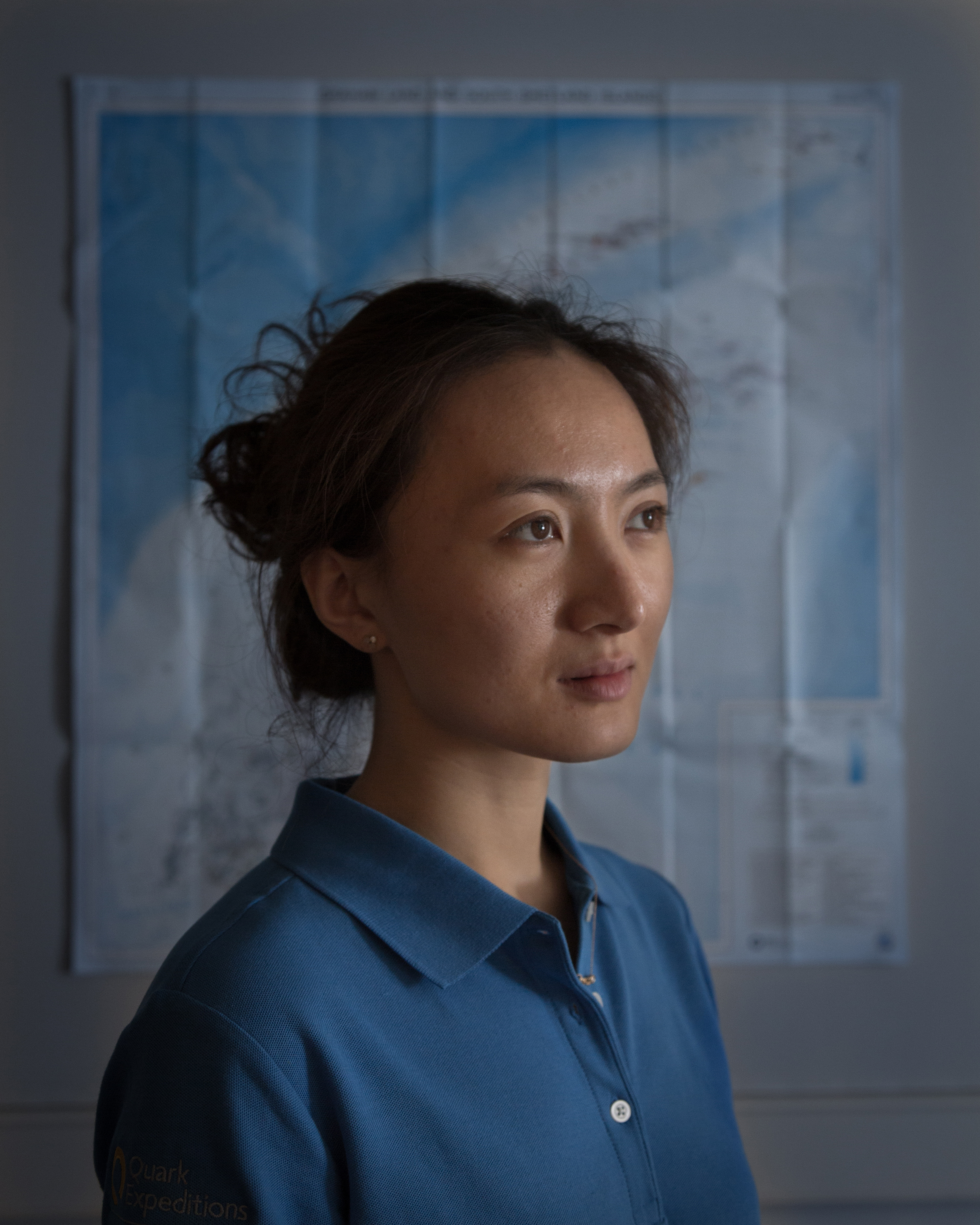Jiayi Zhao, an actress and dancer from Beijing, works as a Mandarin translator and expedition guide. She has guided extensively at both poles
