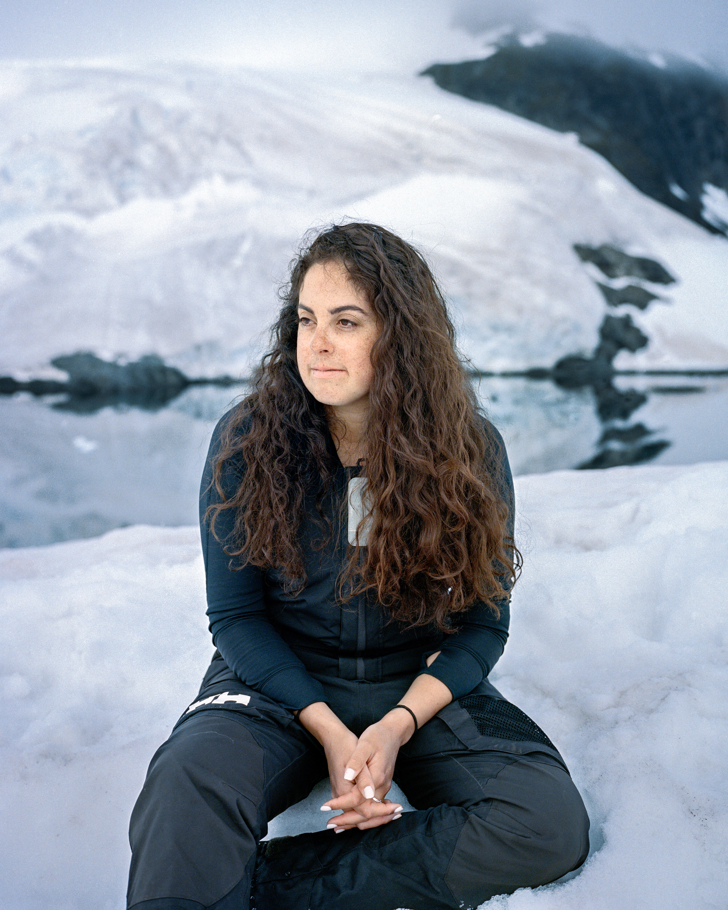 "American Aven King is proud to work amongst such a strong community of women, but is concerned that she has never worked with another person of color in Antarctica. ""I don't think I've worked with a single other black person in the expedition world. At all."""