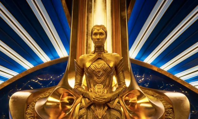 Elizabeth Debicki as Ayesha in Guardians of the Galaxy Vol. 2