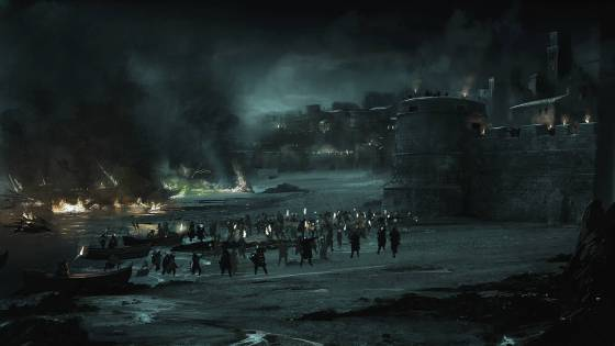 Battle of Blackwater in Game of Thrones