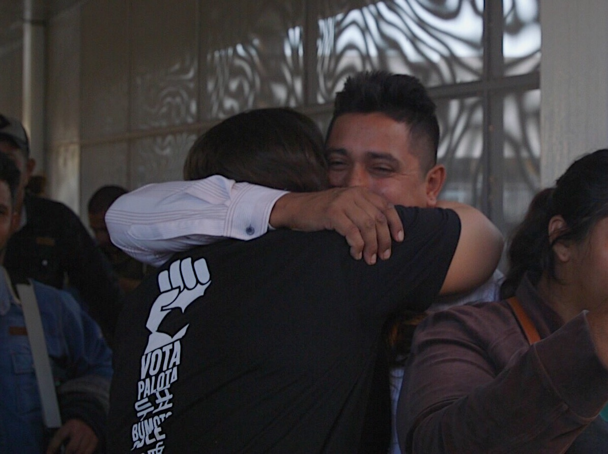 A father from Honduras, whose son has been in U.S. foster care for 10 months, learns he can return to the U.S.