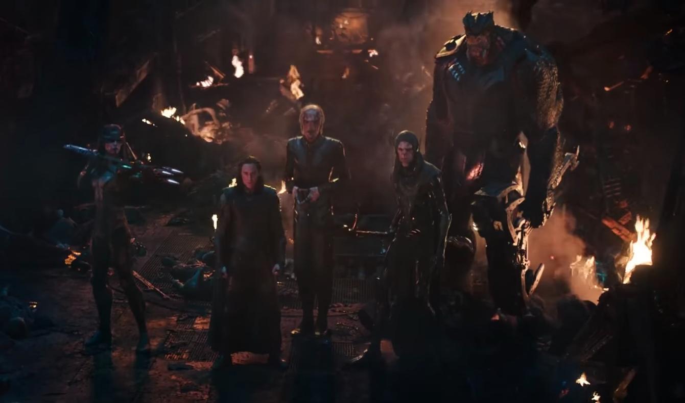Children of Thanos in Avengers: Infinity War