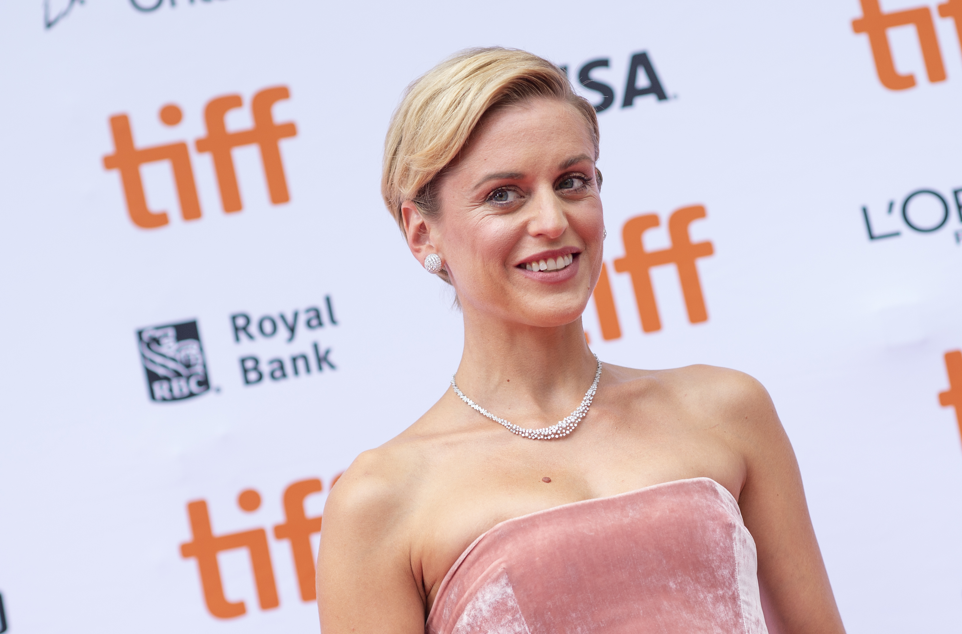 Irish actress Denise Gough attends the Premiere of  Colette  during the Toronto International Film Festival, on September 11, 2018, in Toronto, Ontario, Canada.