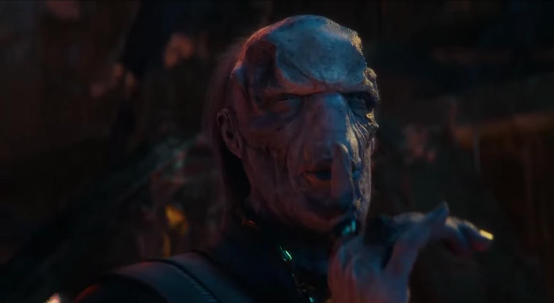 Tom Vaughan-Lawlor as Ebony Maw in Avengers: Infinity War