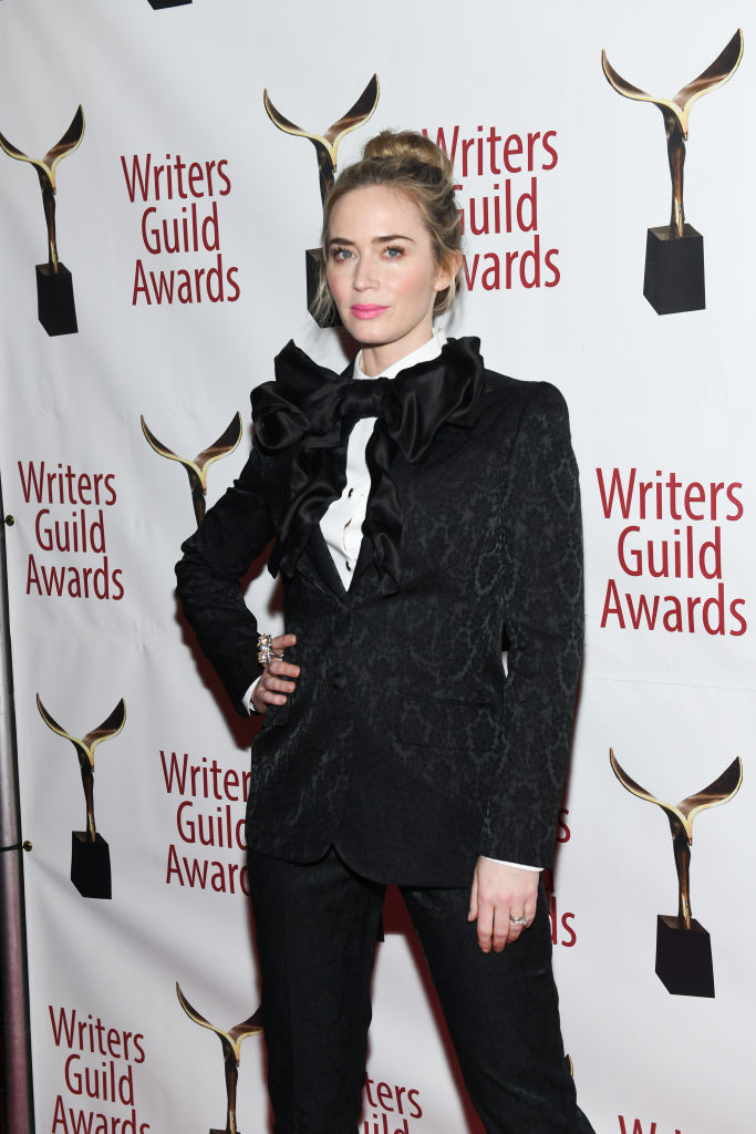 Emily Blunt attends the 71st Annual Writers Guild Awards New York Ceremony at Edison Ballroom on February 17, 2019 in New York City.