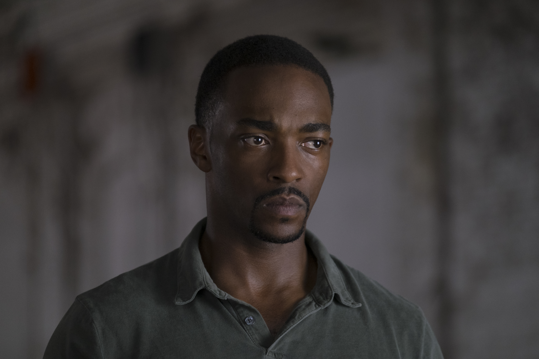 Falcon/Sam Wilson (Anthony Mackie) in Captain America: Civil War