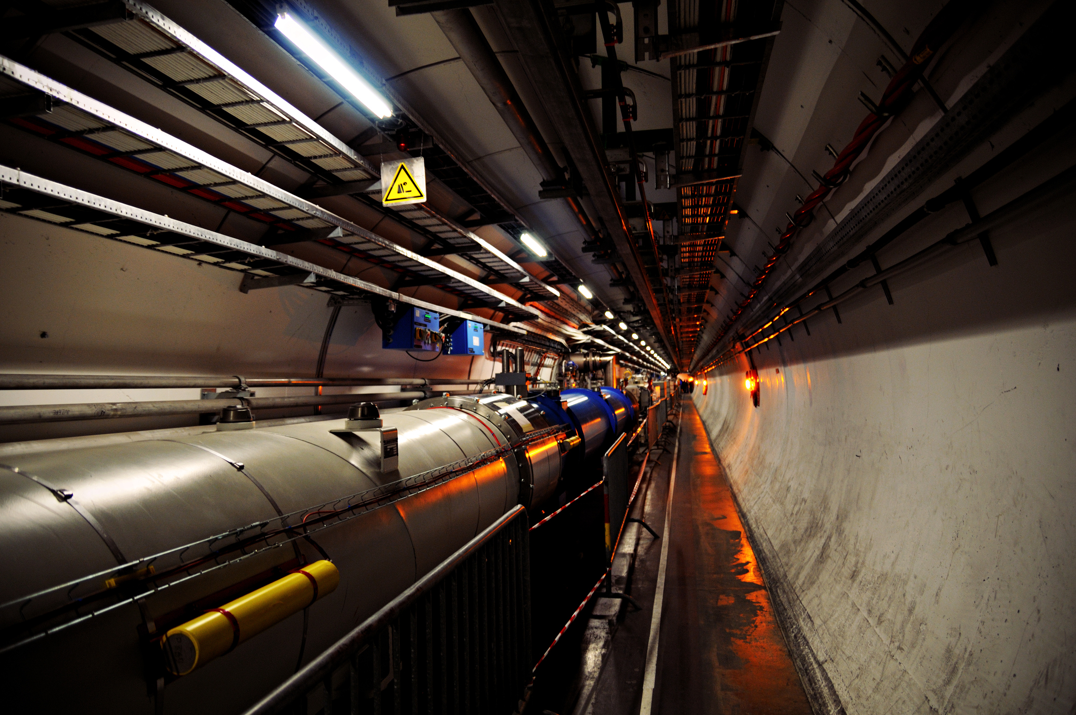 First beam in Large Hadron Collider at CERN was successfully steered around full 27 kilometres of world most powerful.