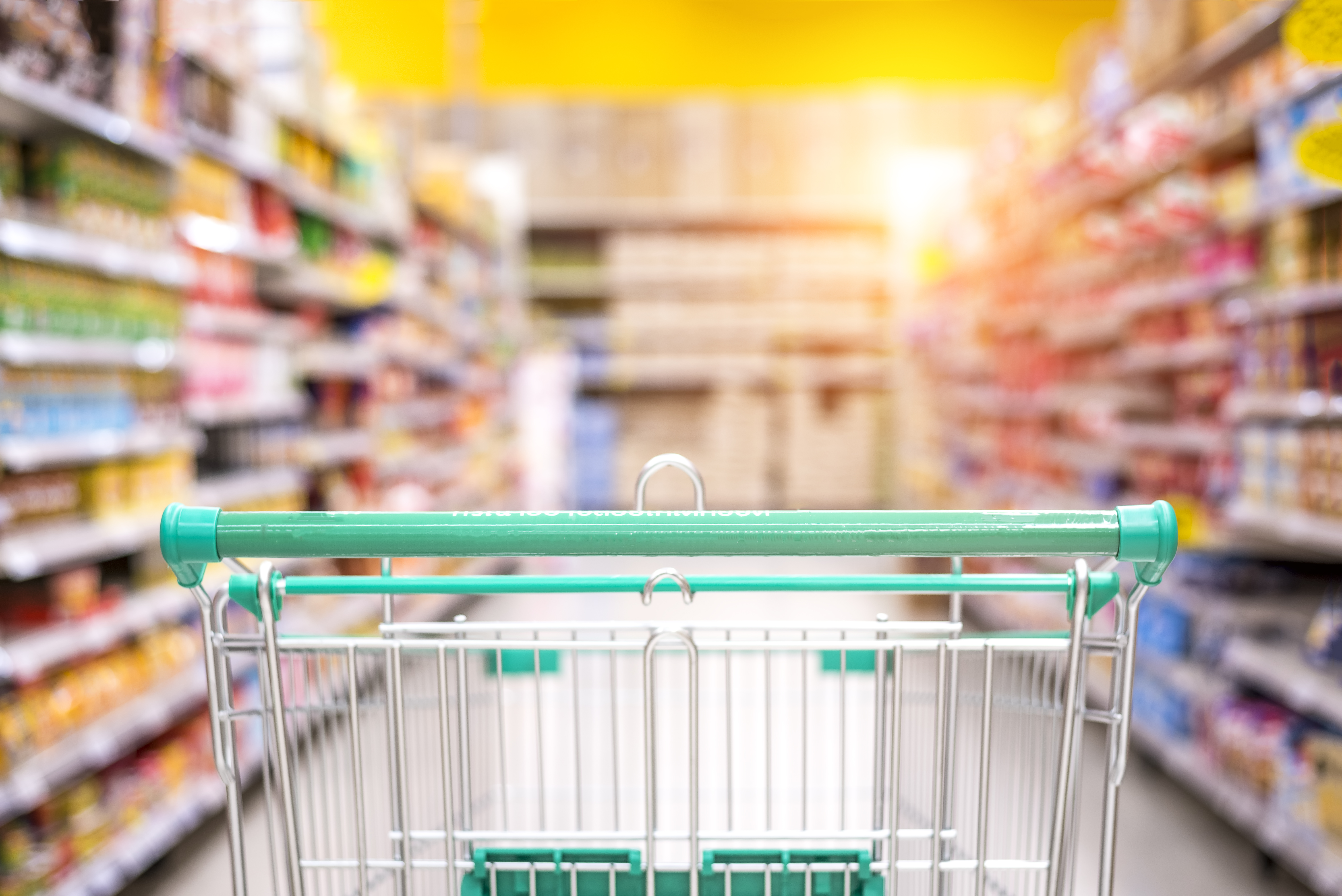 Supermarket responds to viral ghost video.