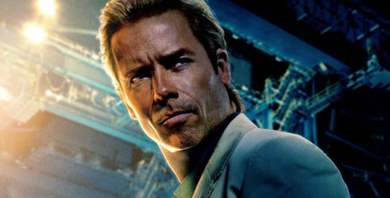 Guy Pearce as Aldrich Killian in Iron Man 3