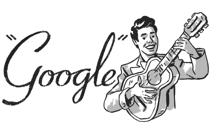 March 2, 2019 Google Doodle to honor Desi Arnaz's 102nd birthday