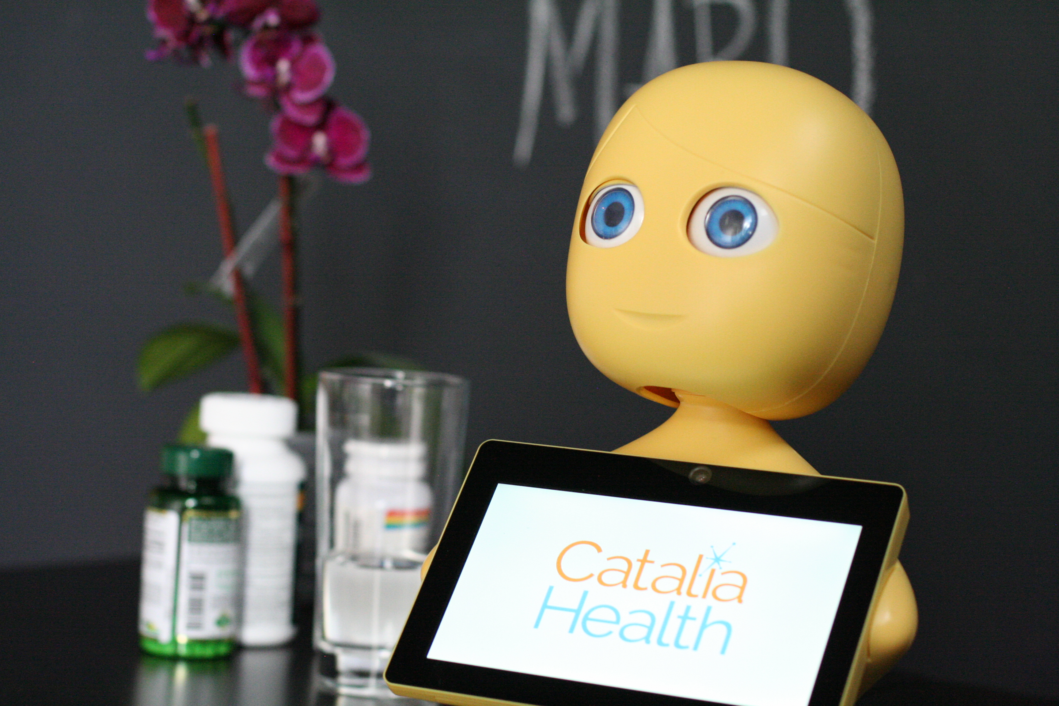 Mabu, a robot that talks to heart failure patients and helps them manage their disease