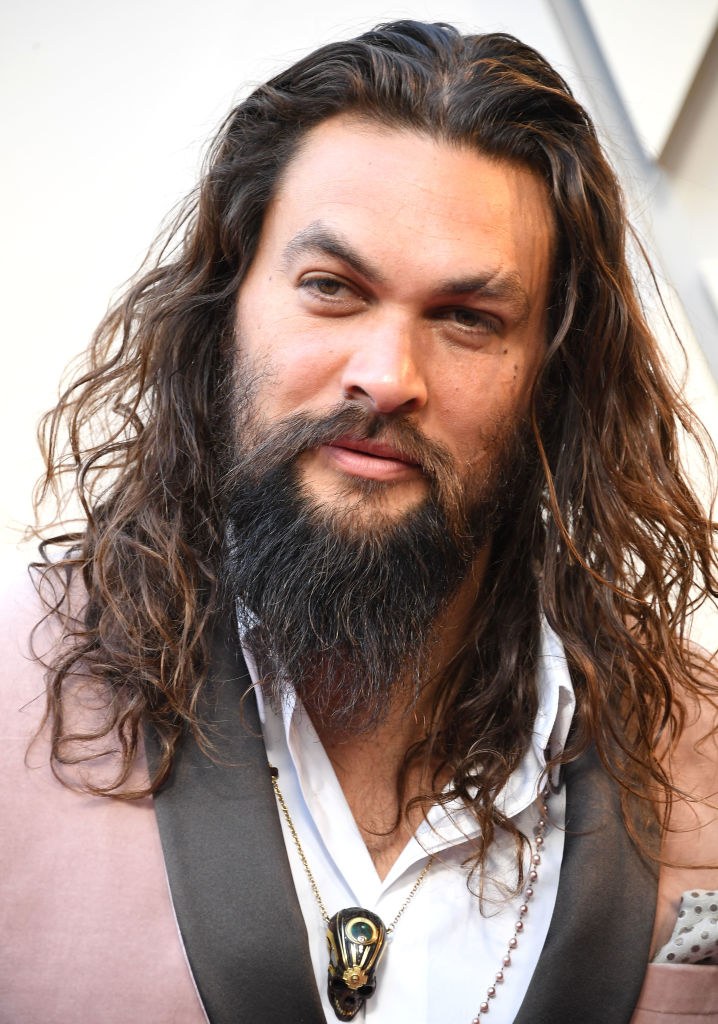 Jason Momoa arrives at the 91st Annual Academy Awards at Hollywood and Highland on February 24, 2019 in Hollywood, California.
