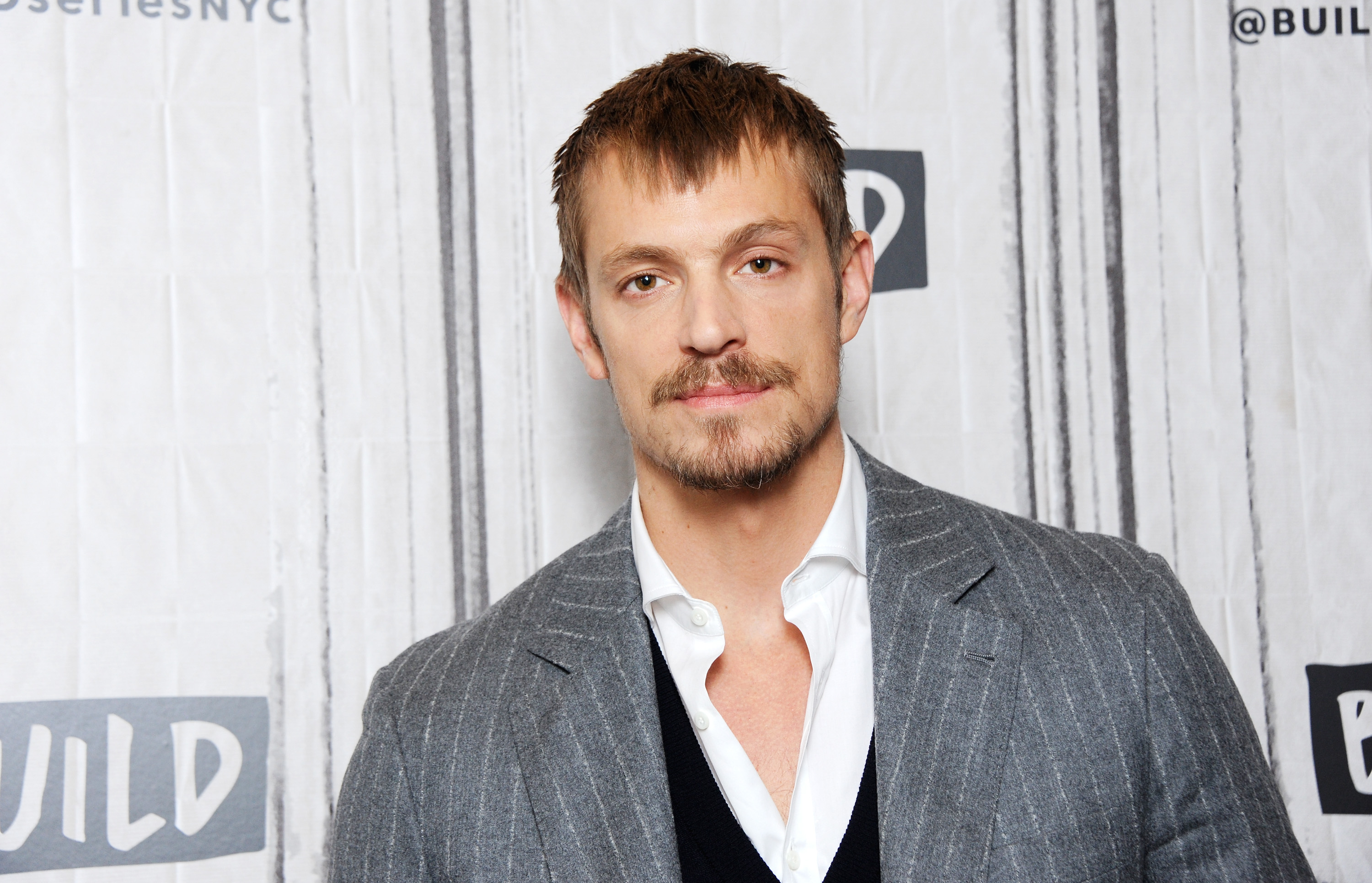 Actor Joel Kinnaman visits Build Series to discuss TV series 'Altered Carbon' at Build Studio on January 31, 2018 in New York City.  (Photo by Desiree Navarro/WireImage)
