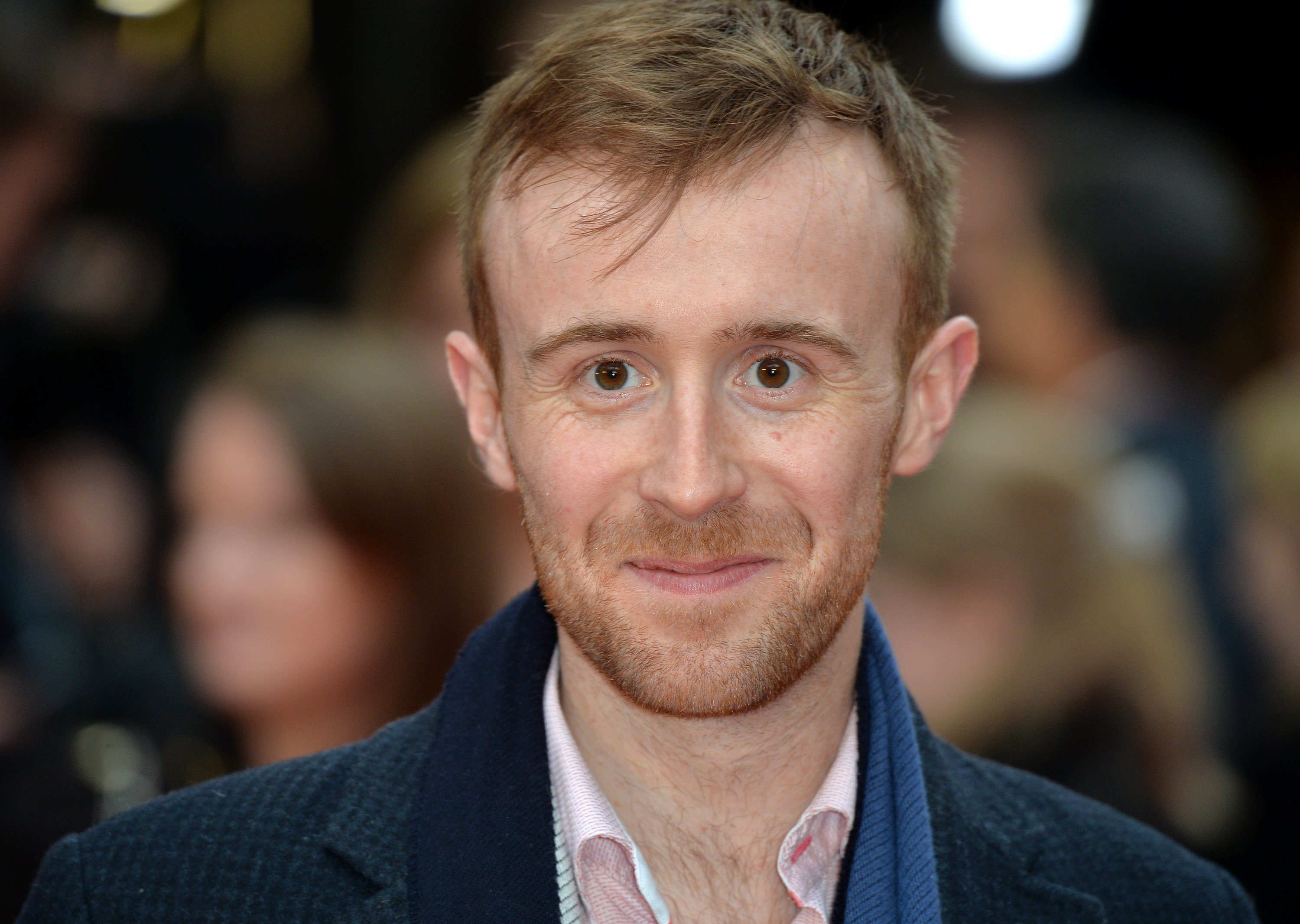 LONDON, ENGLAND - APRIL 11:  John Heffernan attends the UK premiere of  Eye In The Sky  on April 11, 2016 in London, United Kingdom.  (Photo by Anthony Harvey/Getty Images)