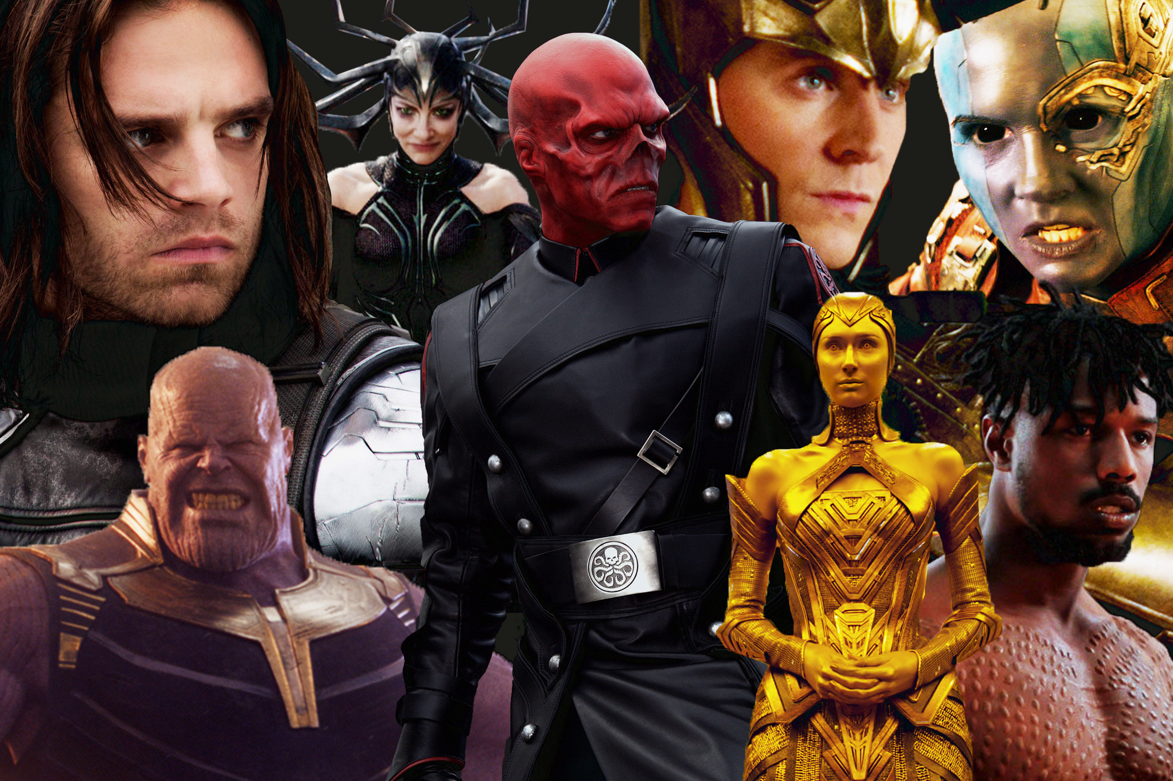 Marvel Cinematic Universe Villains Ranked From Worst To Best Time In the case of captain marvel, the change in color scheme feels like an important plot point. marvel cinematic universe villains