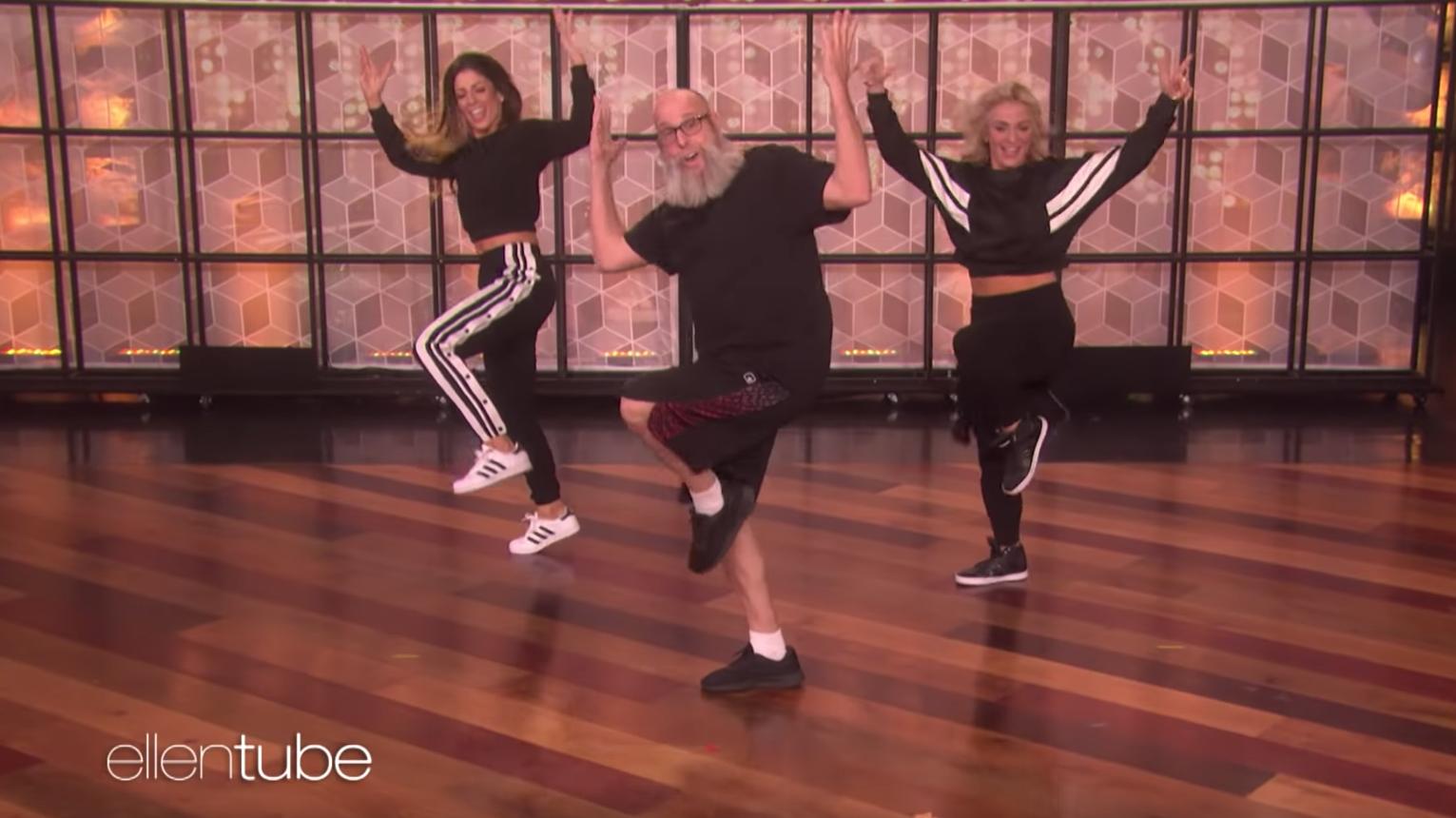 Mike Alancourt dances on 'The Ellen DeGeneres Show'
