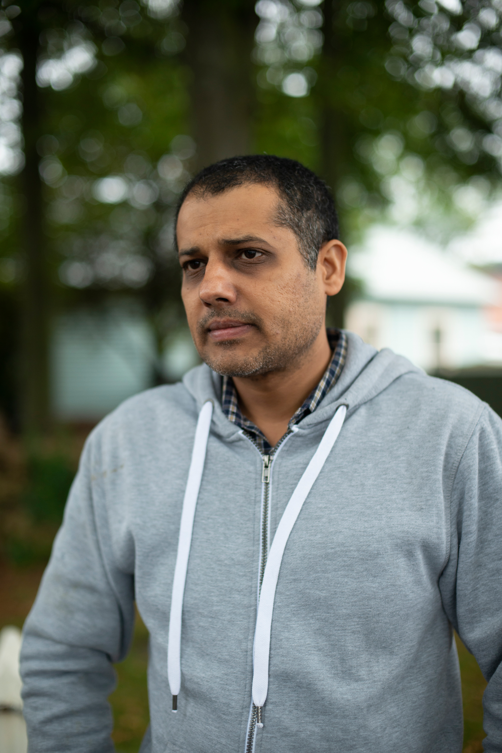 Mohsan Ali, 37, narrowly escaped the attack on the Al Noor mosque in Christchurch, New Zealand. His wife survived by hiding in a bathroom.
