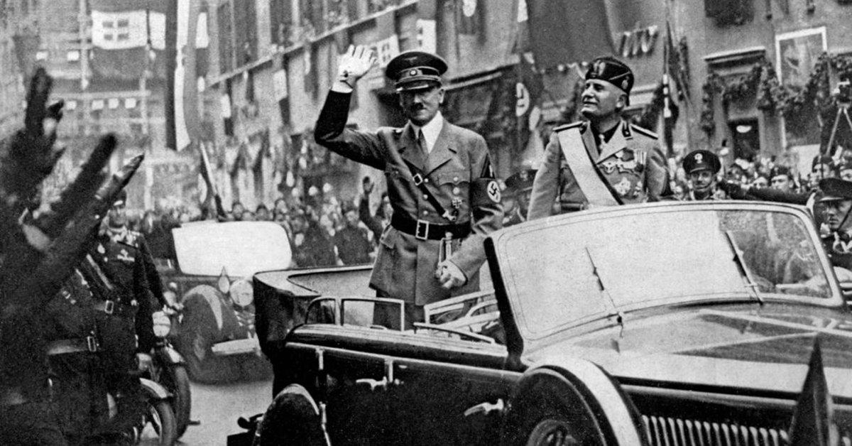 Life and death struggle against fascism