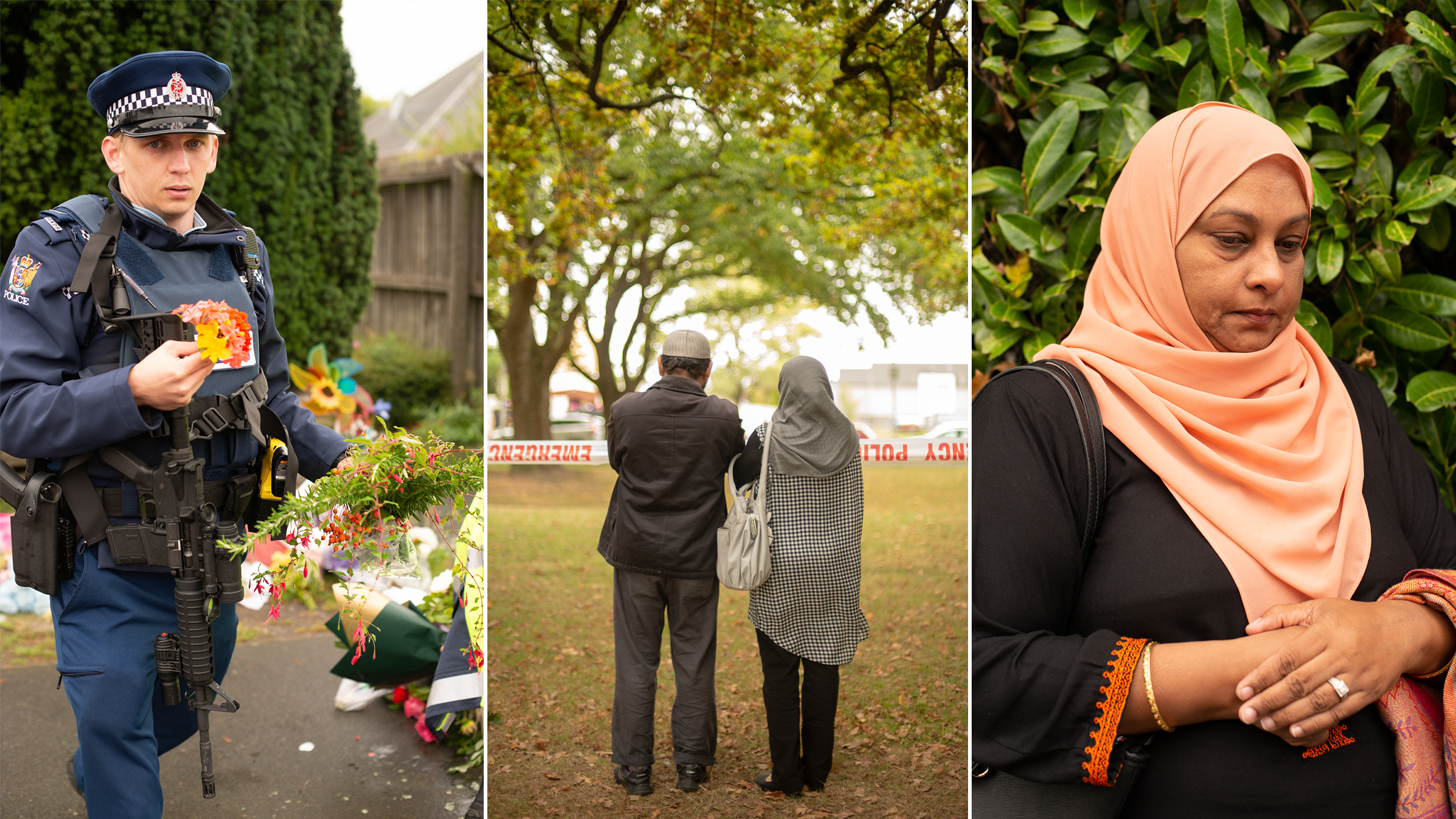 Survivors, family members and New Zealanders of every creed and color paid tribute to the victims of the mosque shootings in Christchurch