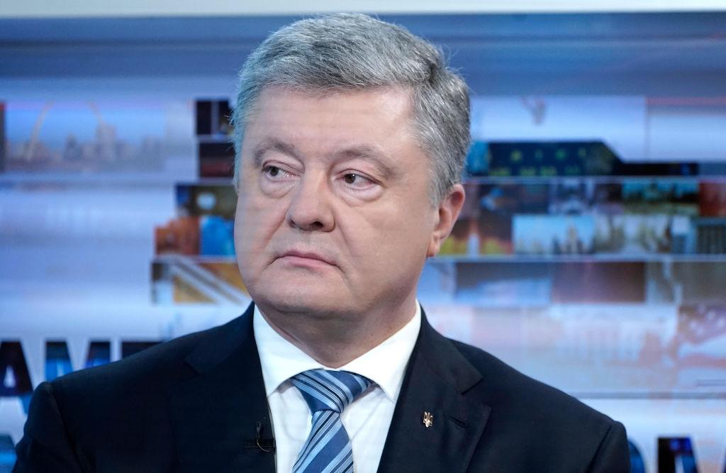 Ukrainian President Petro Poroshenko visits Fox News on February 20, 2019 in New York City.