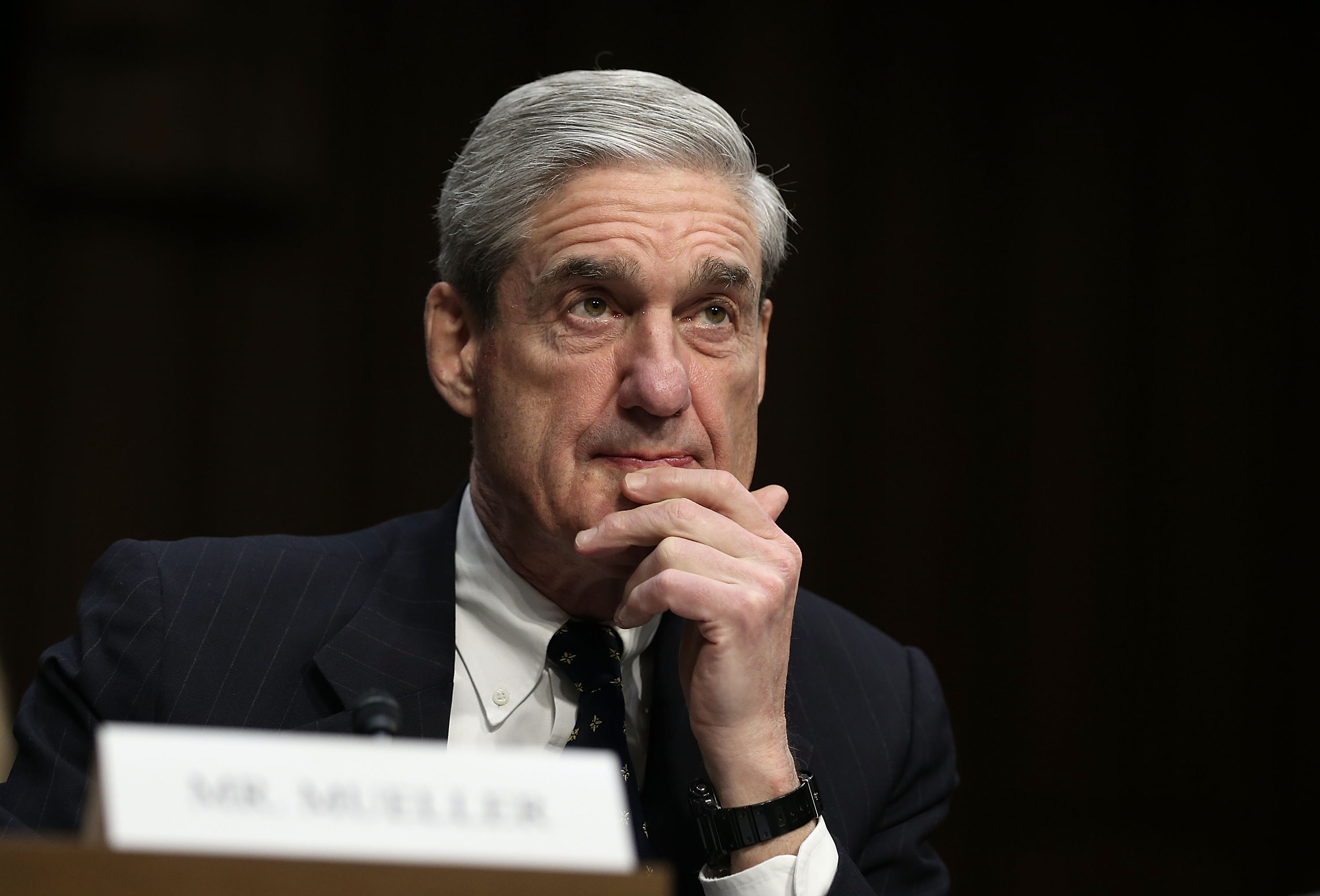 Robert Mueller testifies during a hearing before the Senate (Select) Intelligence Committee March 12, 2013 on Capitol Hill in Washington, D.C.