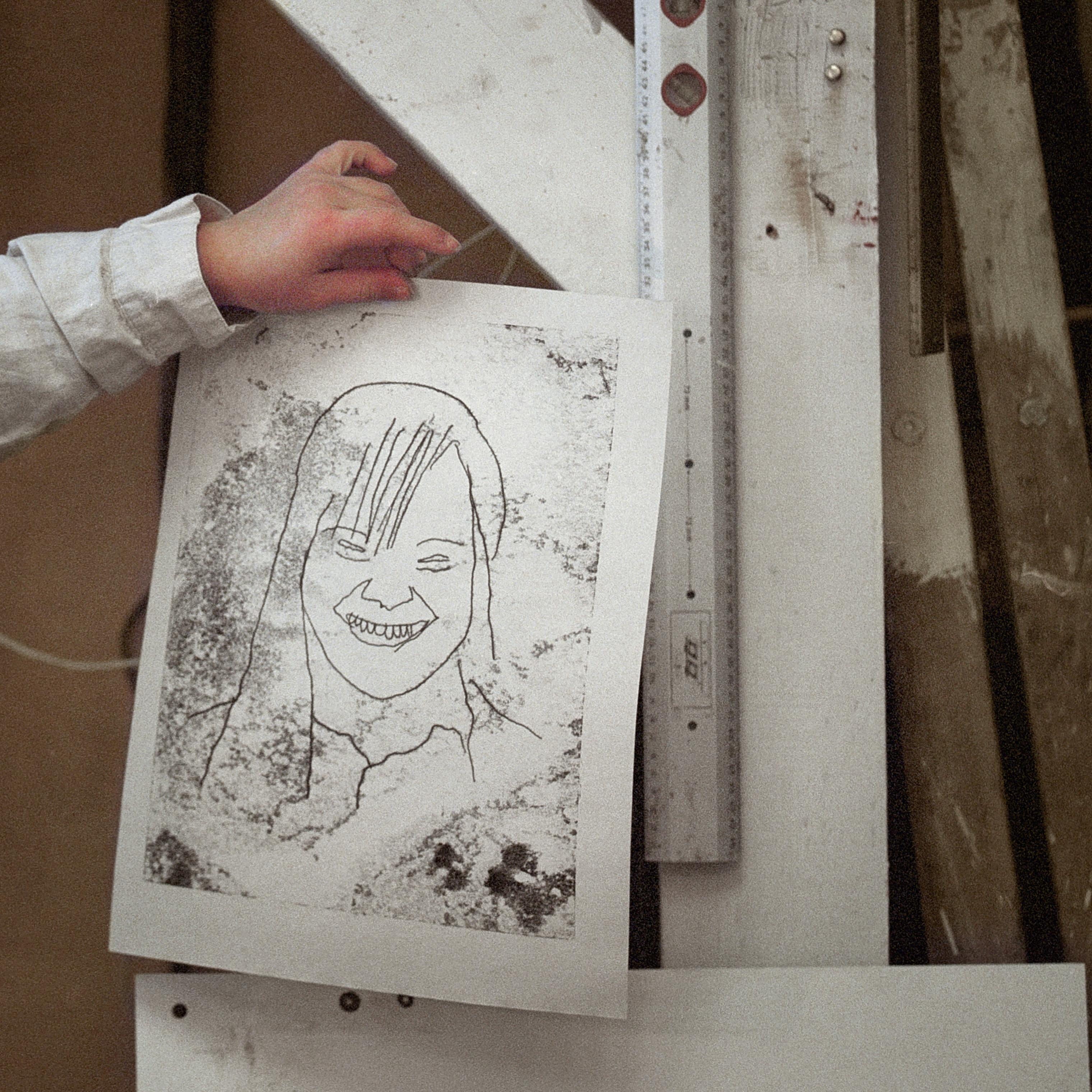 Sofie's self portrait, Ellenstedt, Germany, Spring 2018