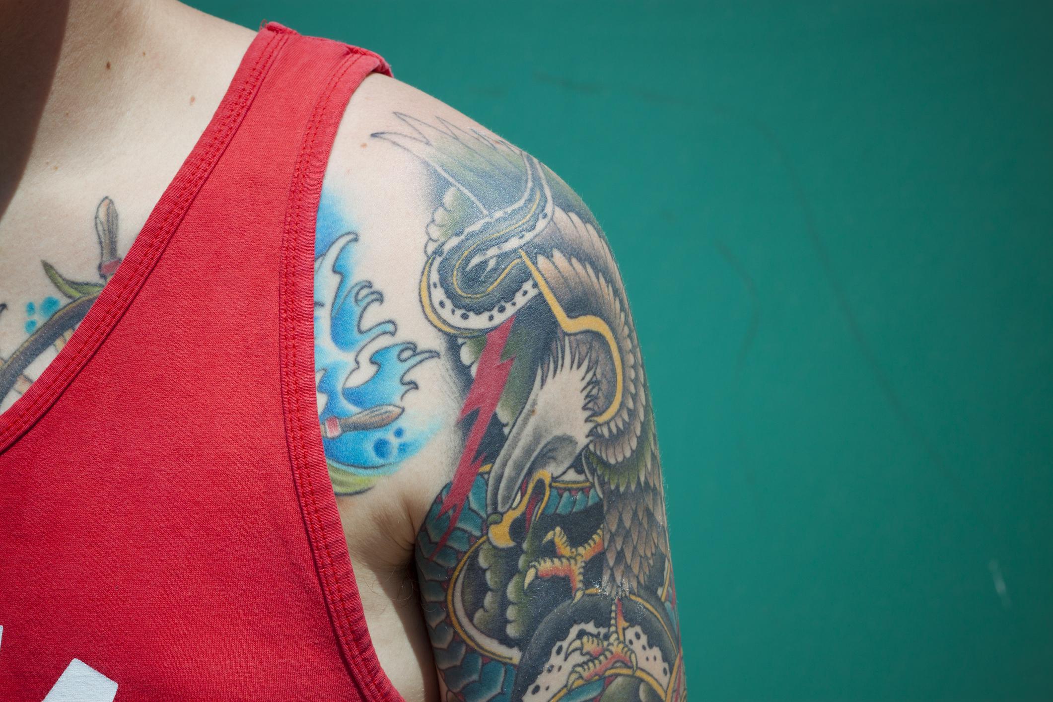 prostata al tattoo non uniformed